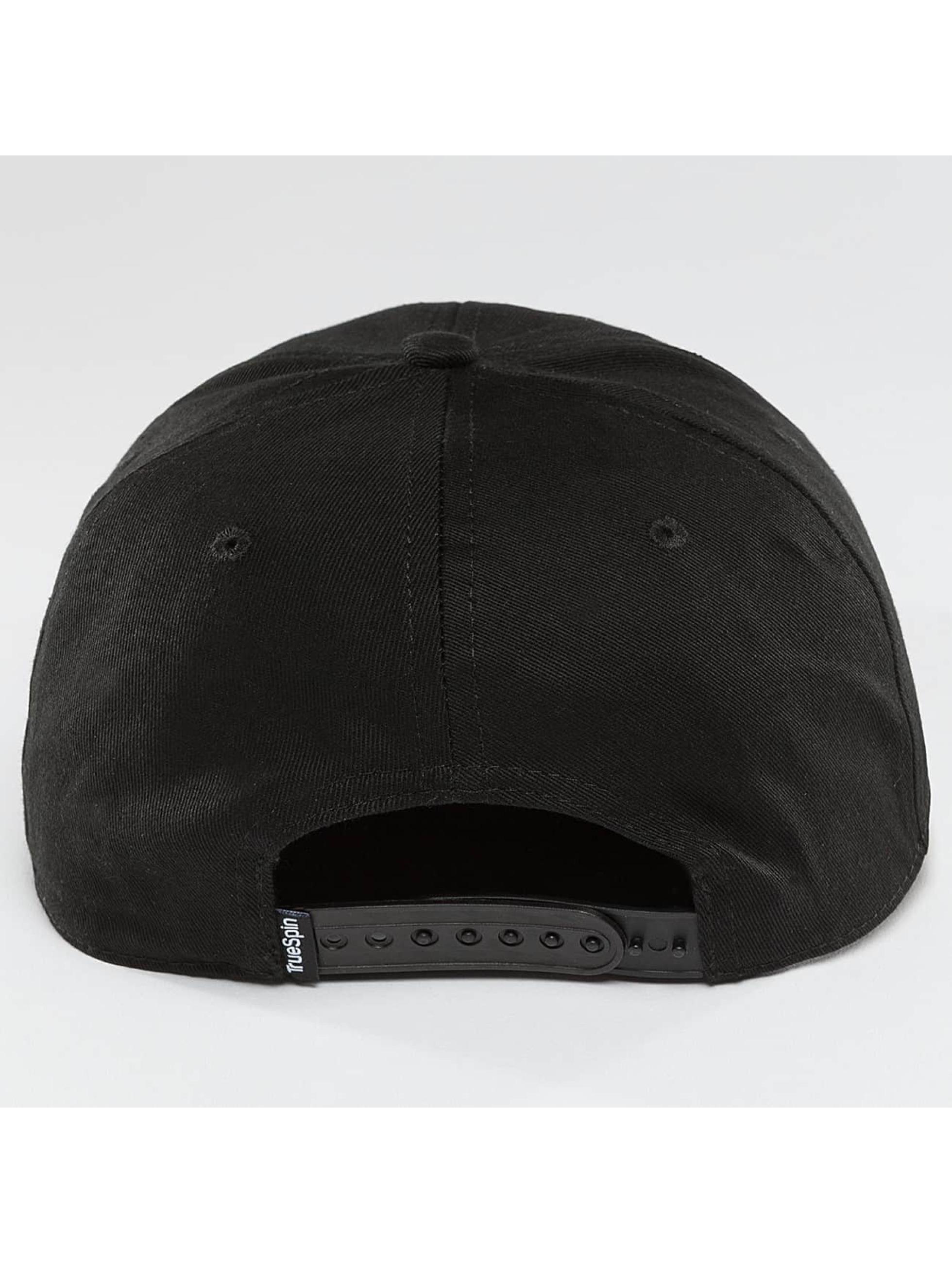 TrueSpin Snapback Caps Täskulap sort