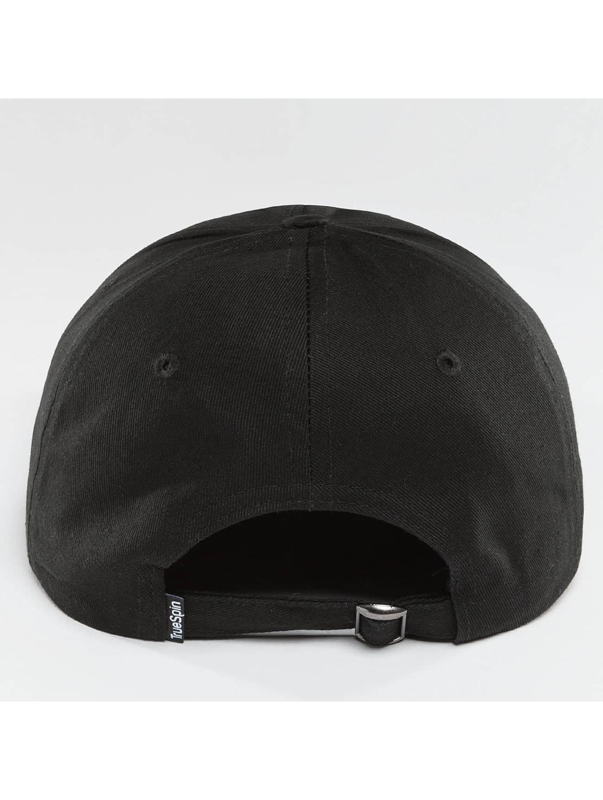 TrueSpin Snapback Caps Truely Small svart
