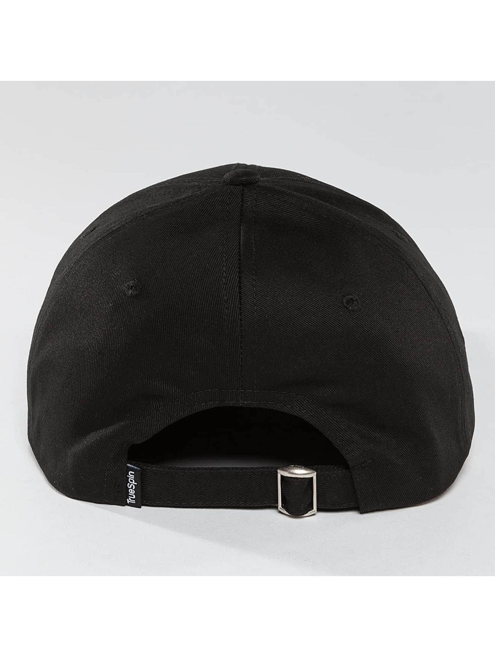 TrueSpin Snapback Caps SB50 svart