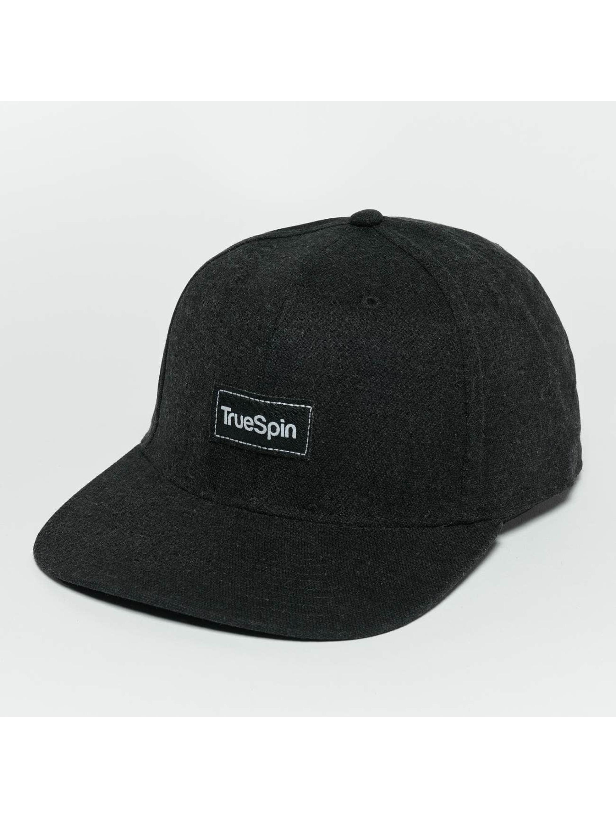 TrueSpin Snapback Caps Decent svart