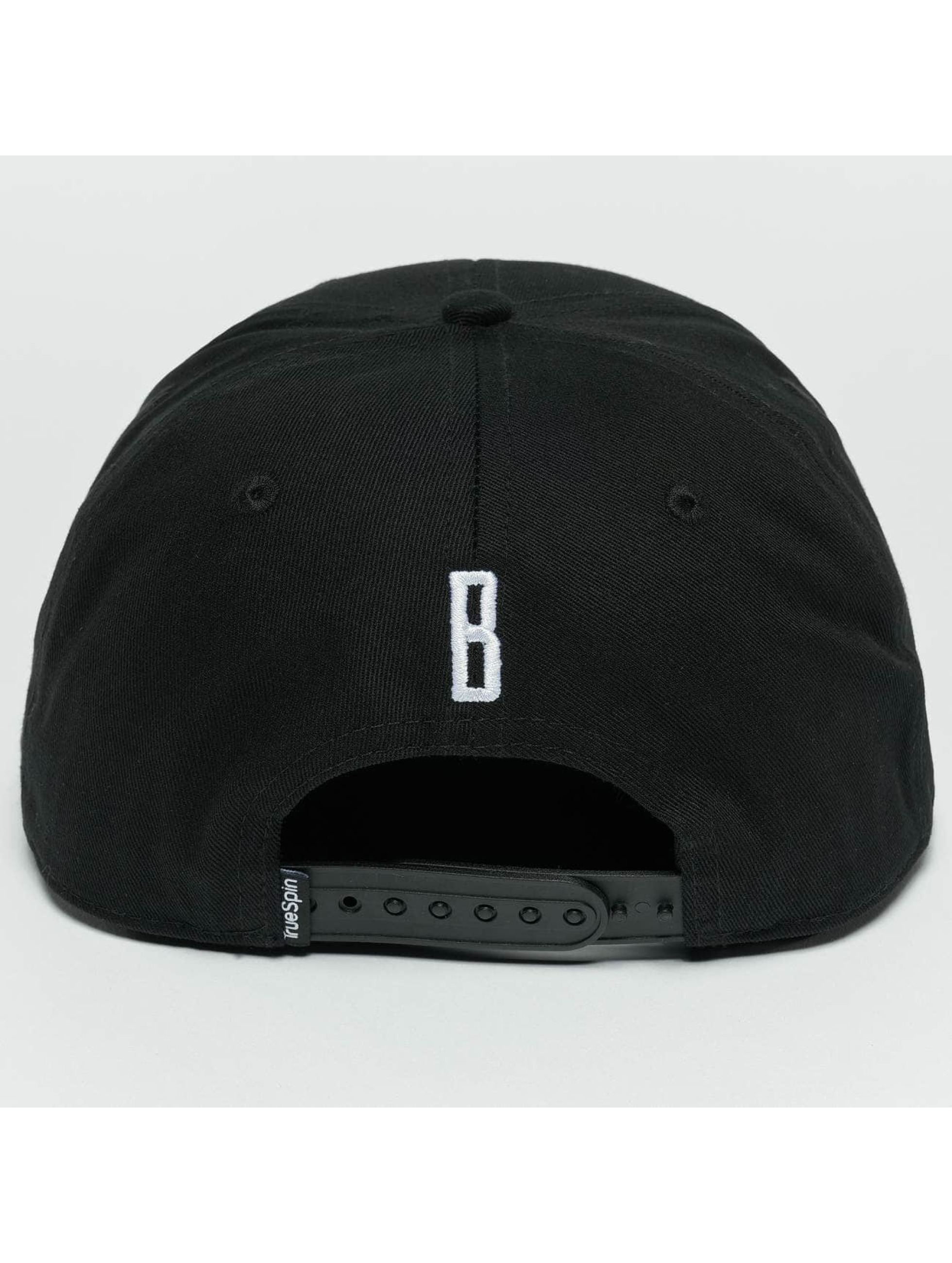 TrueSpin Snapback Caps ABC B svart
