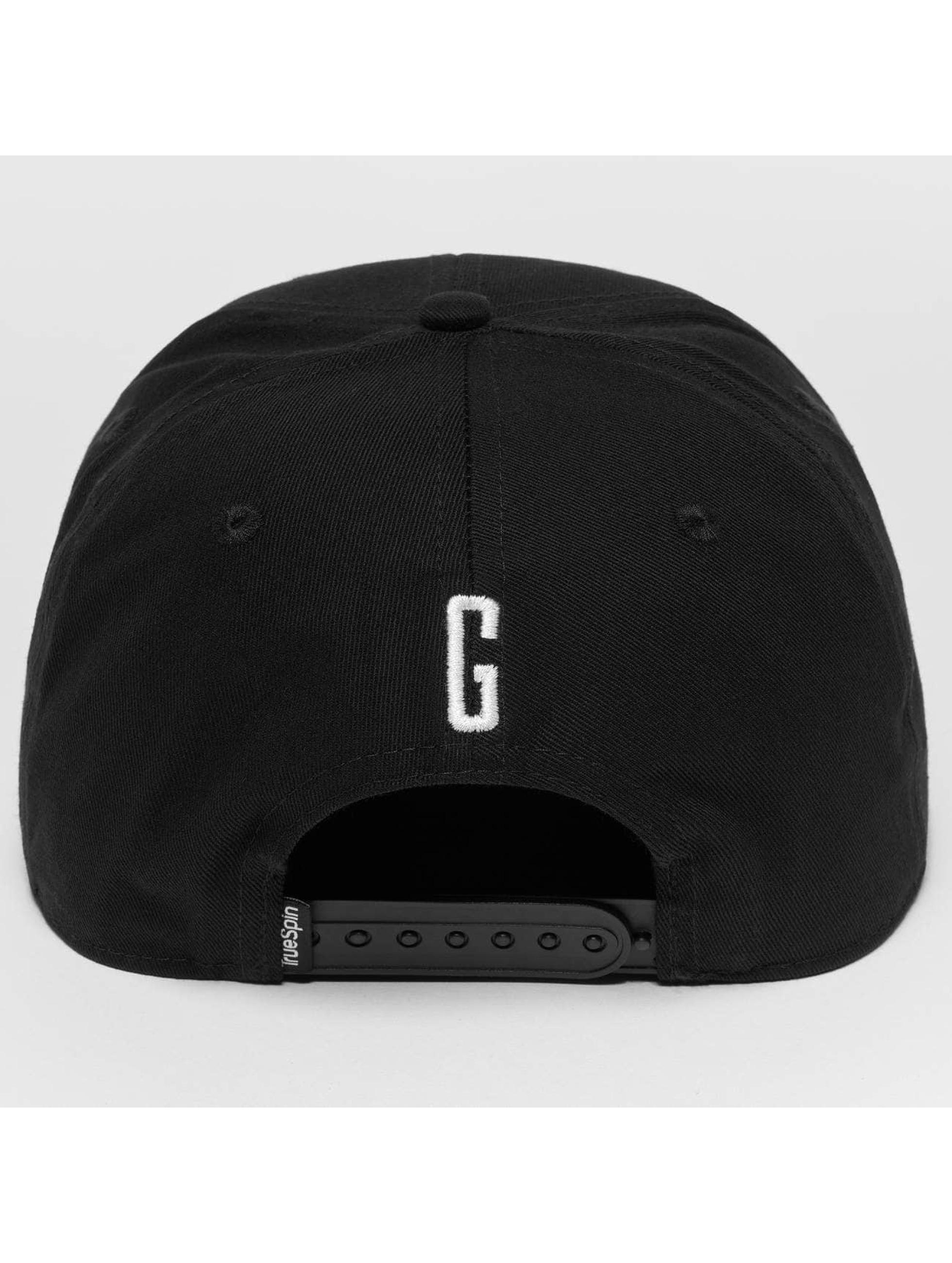 TrueSpin Snapback Caps ABC G svart