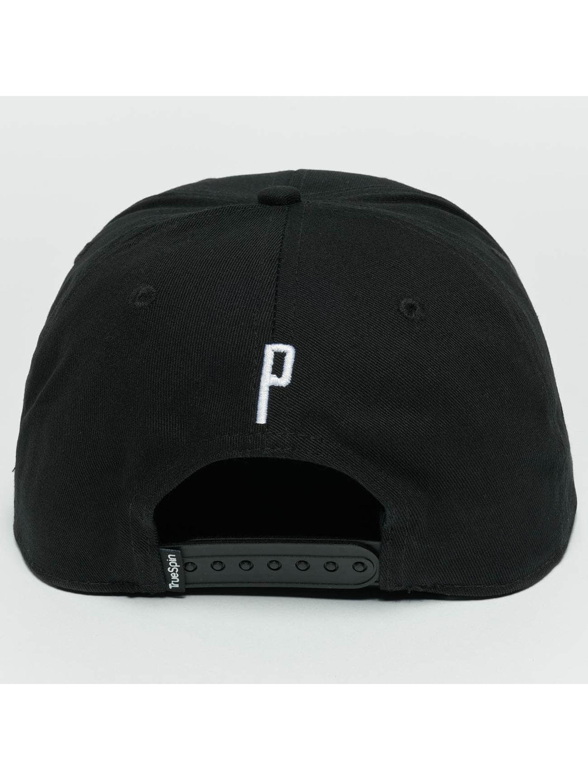 TrueSpin Snapback Caps ABC P svart