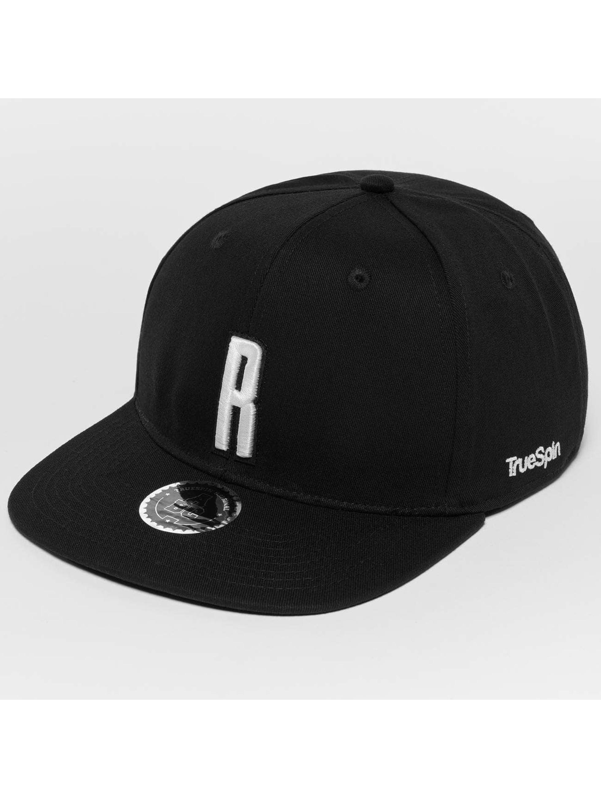 TrueSpin Snapback Caps ABC R svart