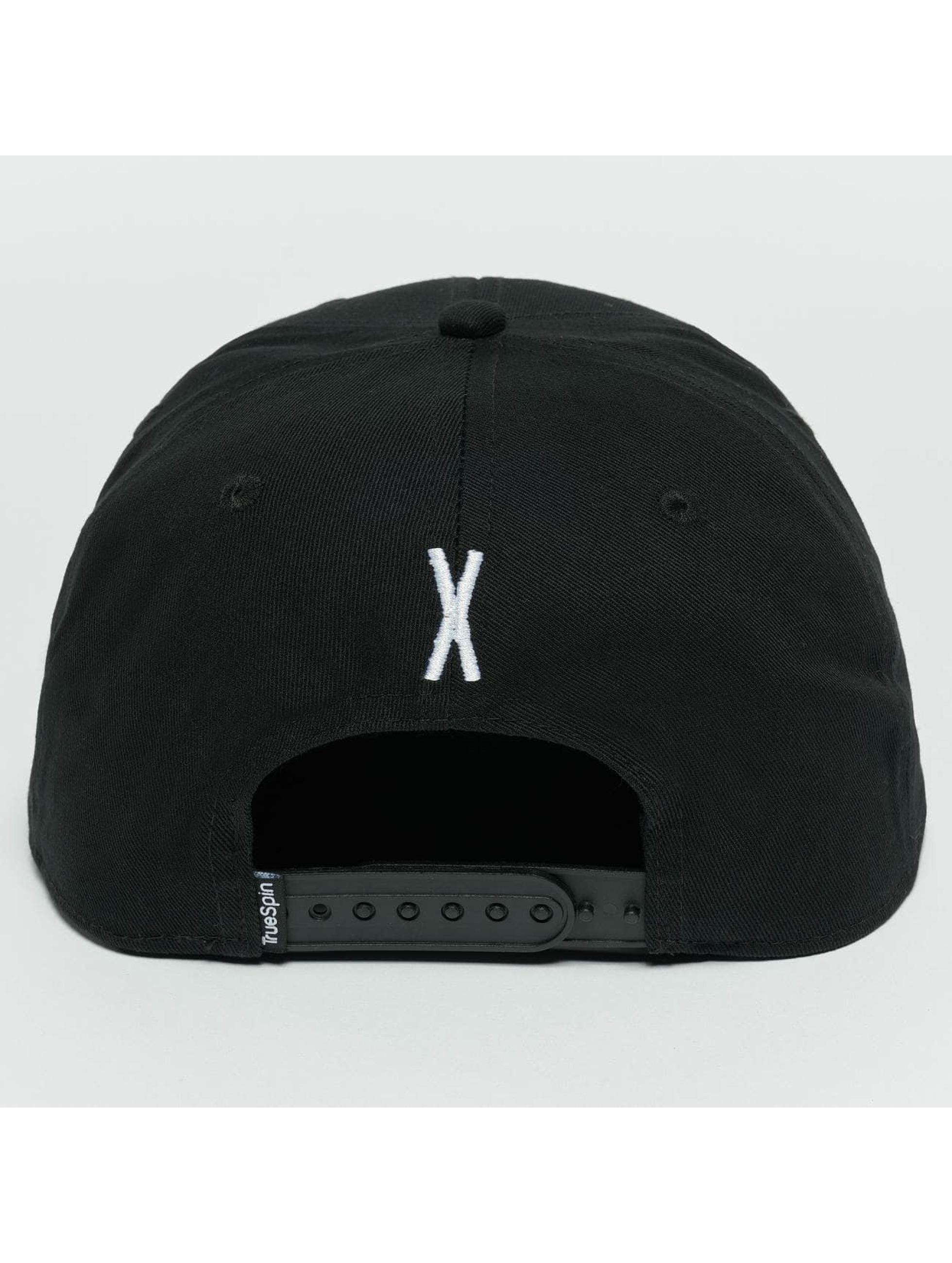 TrueSpin Snapback Caps ABC X svart
