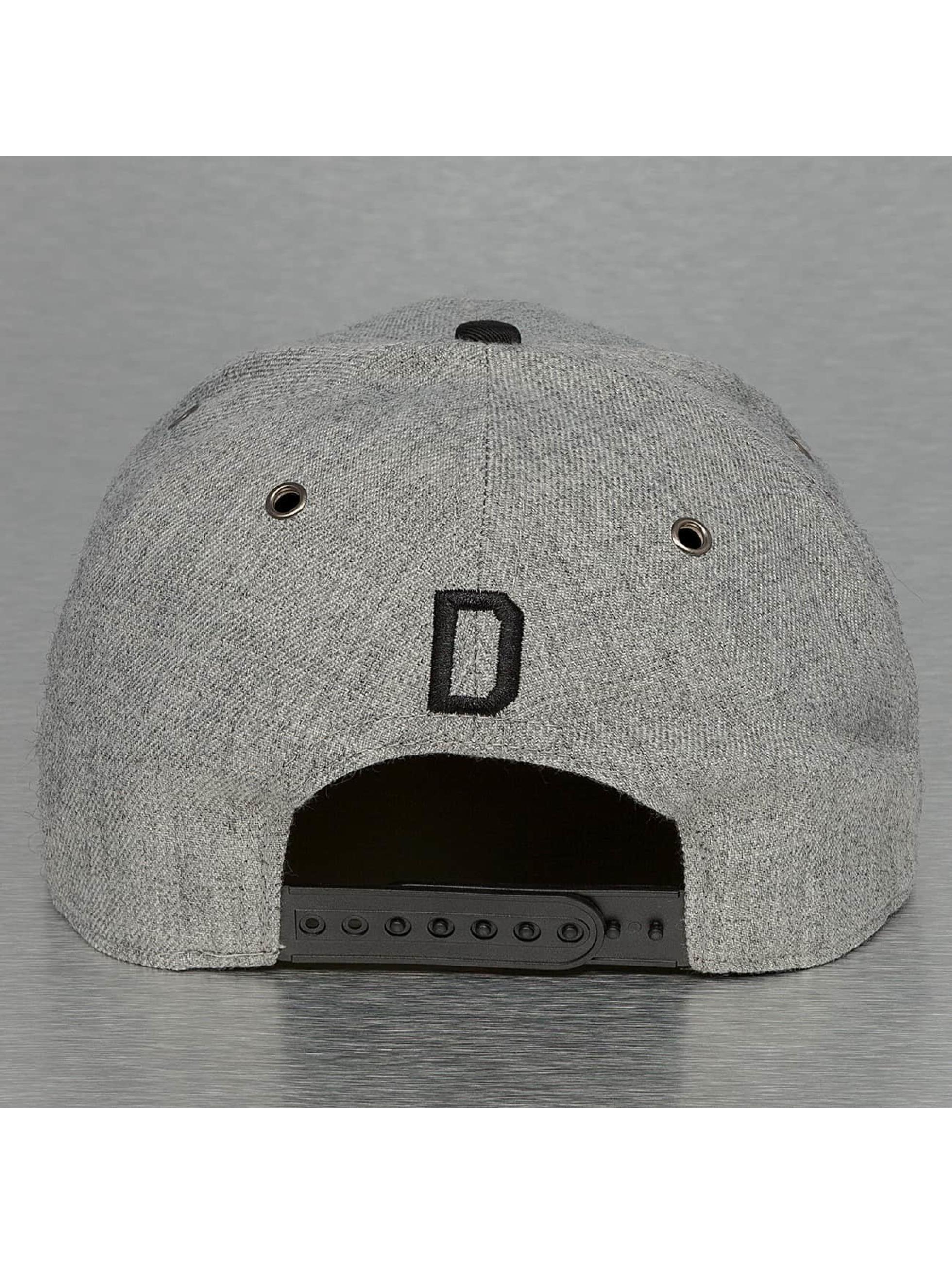 TrueSpin Snapback Caps ABC-D Wool szary
