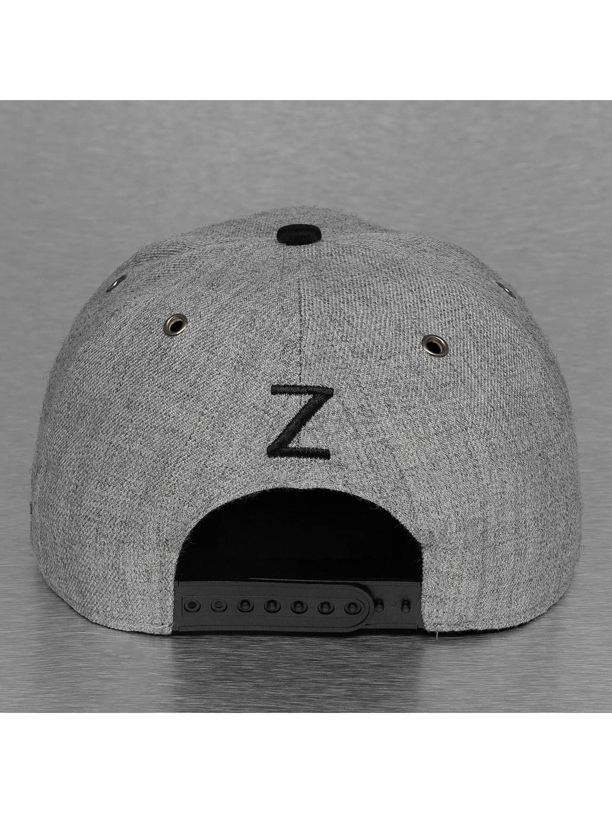 TrueSpin Snapback Caps ABC-Z Wool szary