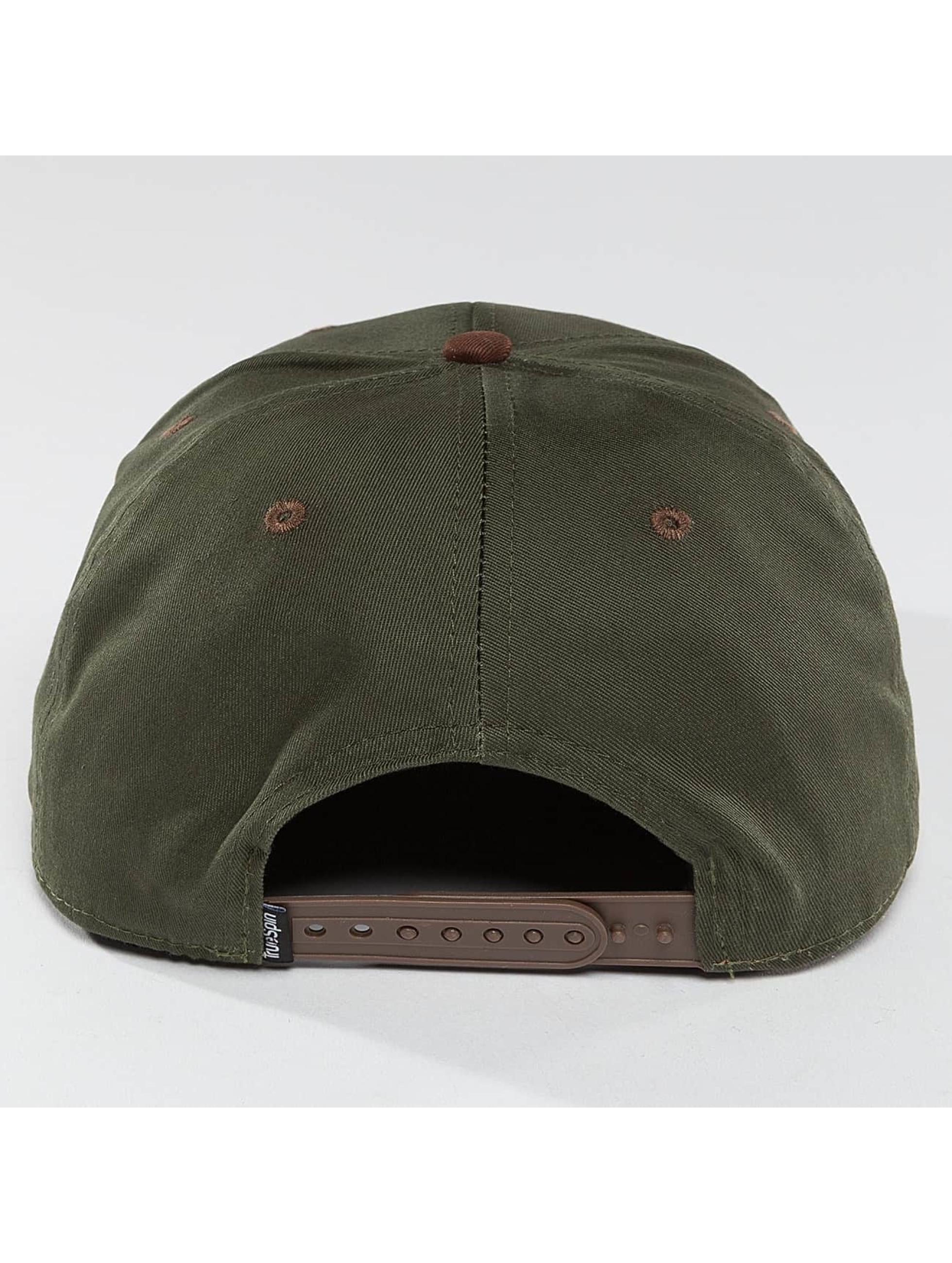 TrueSpin Snapback Caps Twister vihreä