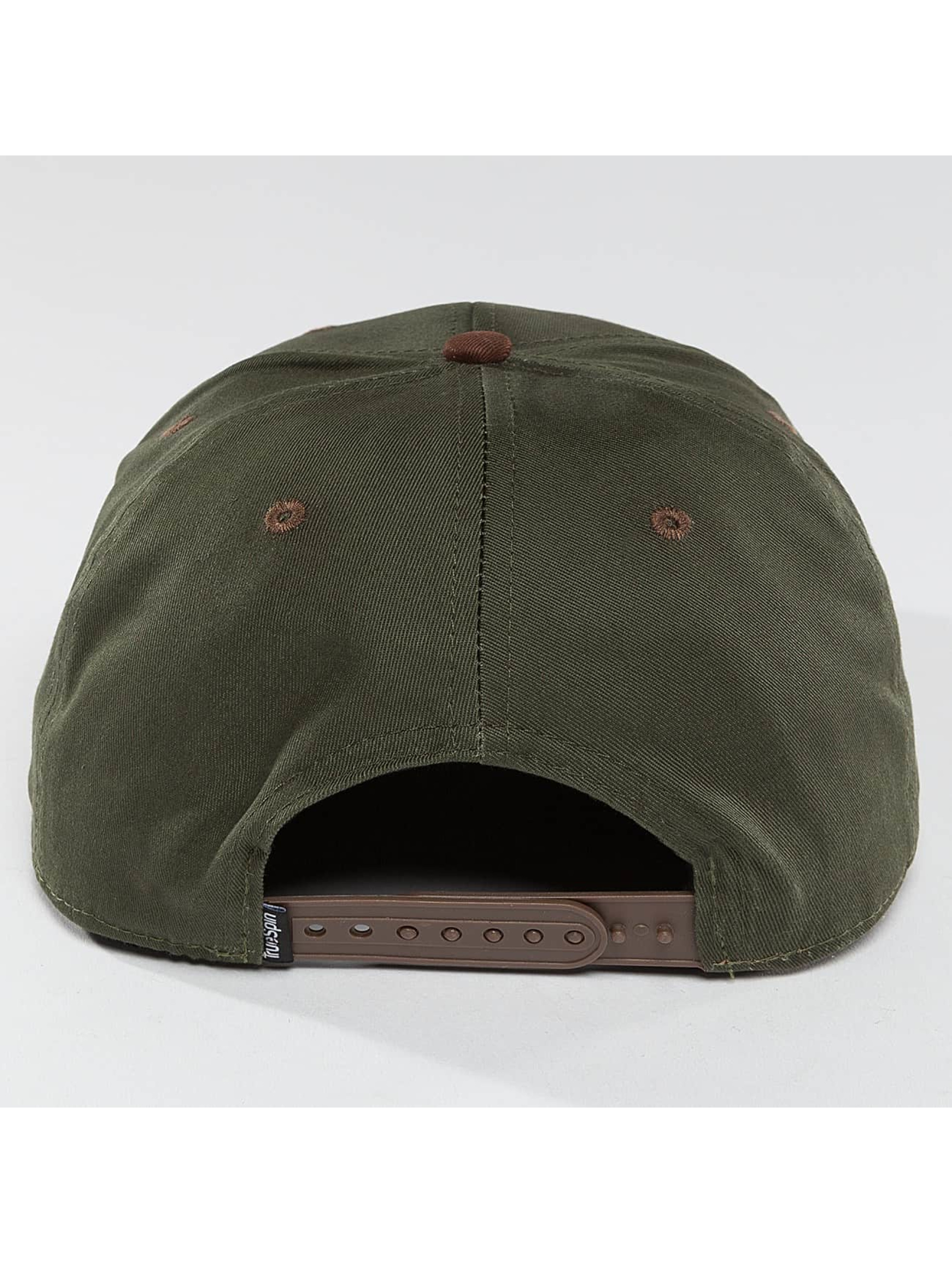 TrueSpin Snapback Caps Twister zielony