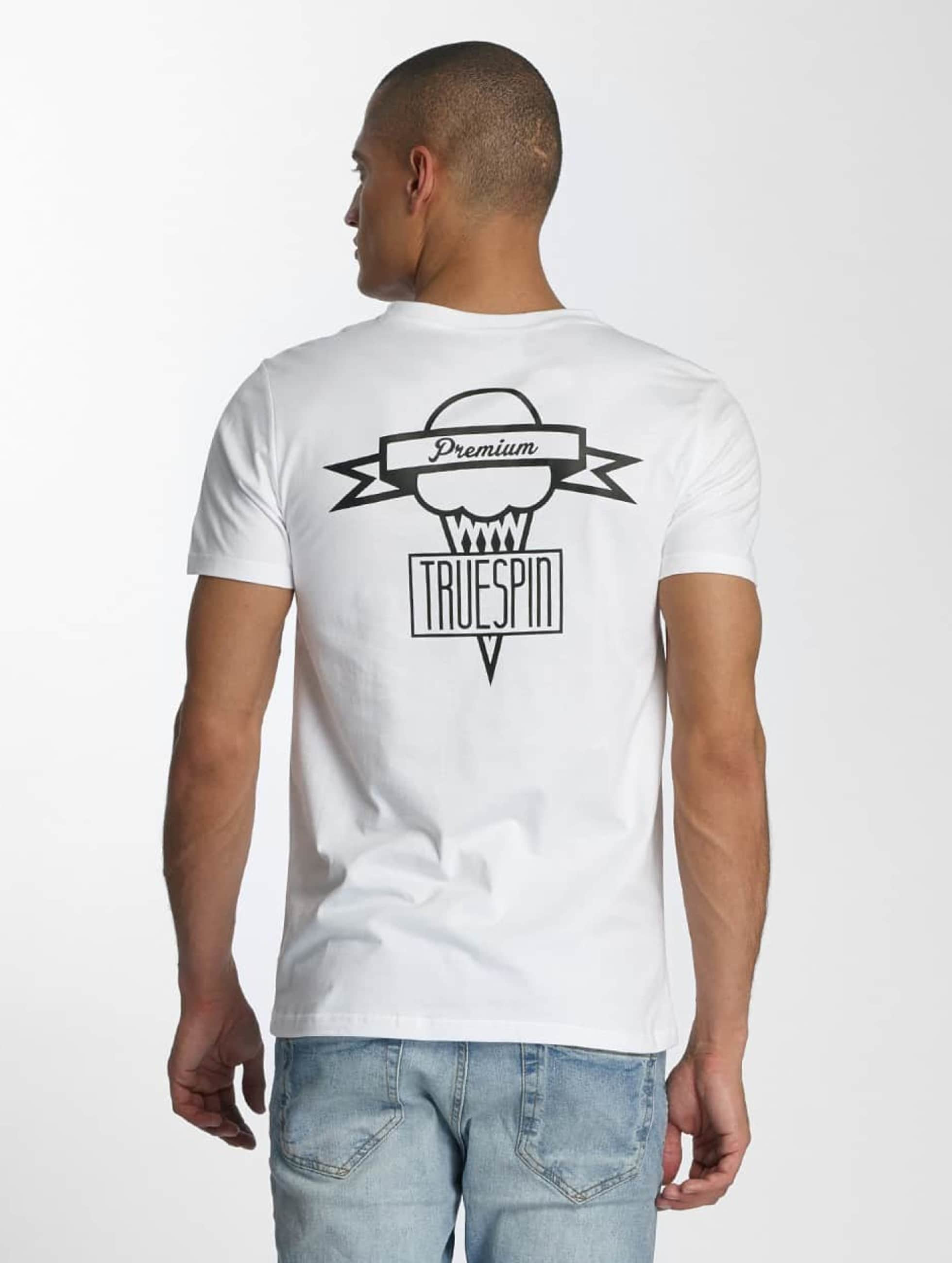 TrueSpin t-shirt 4 wit