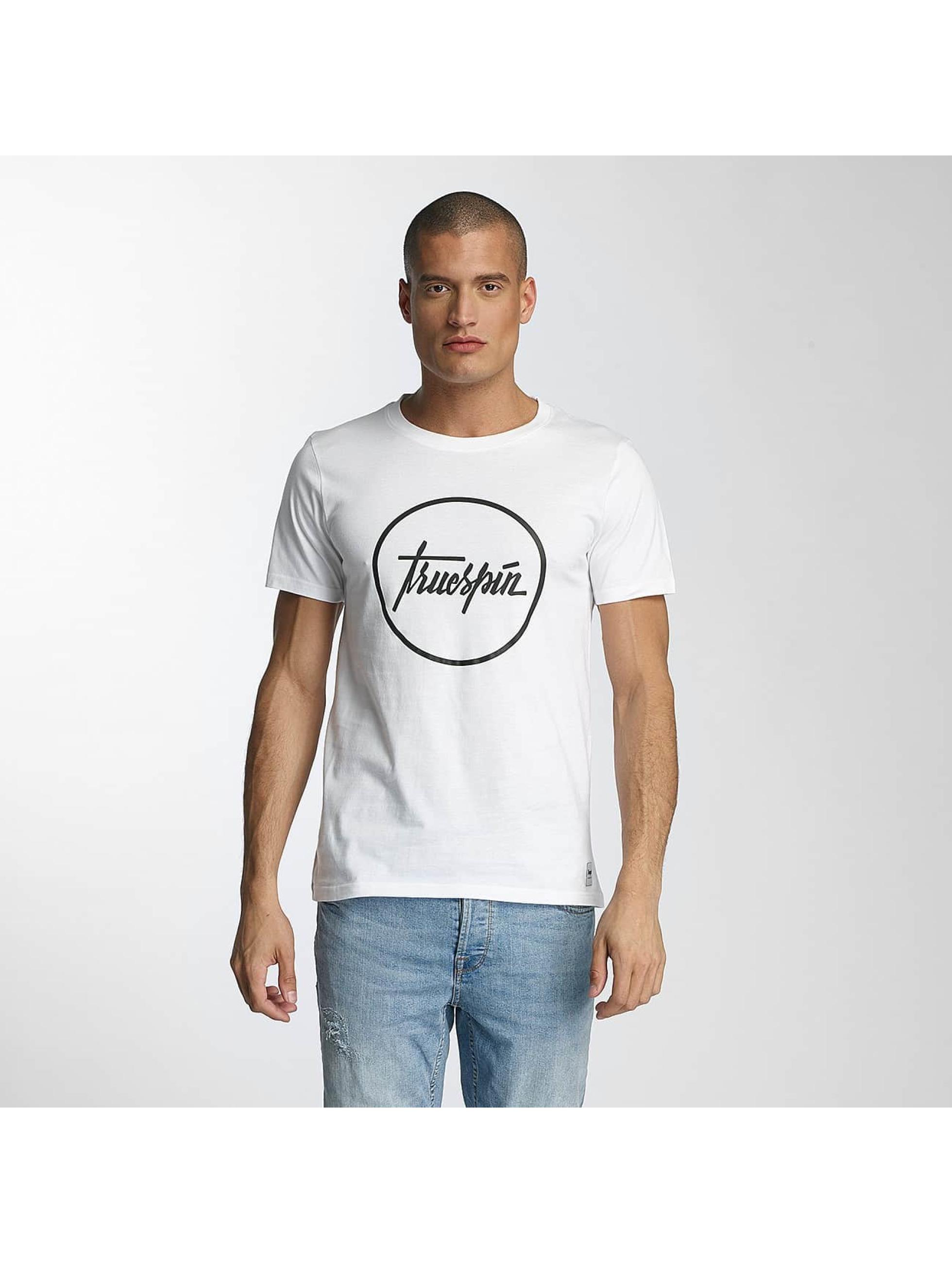 TrueSpin T-shirts 5 hvid
