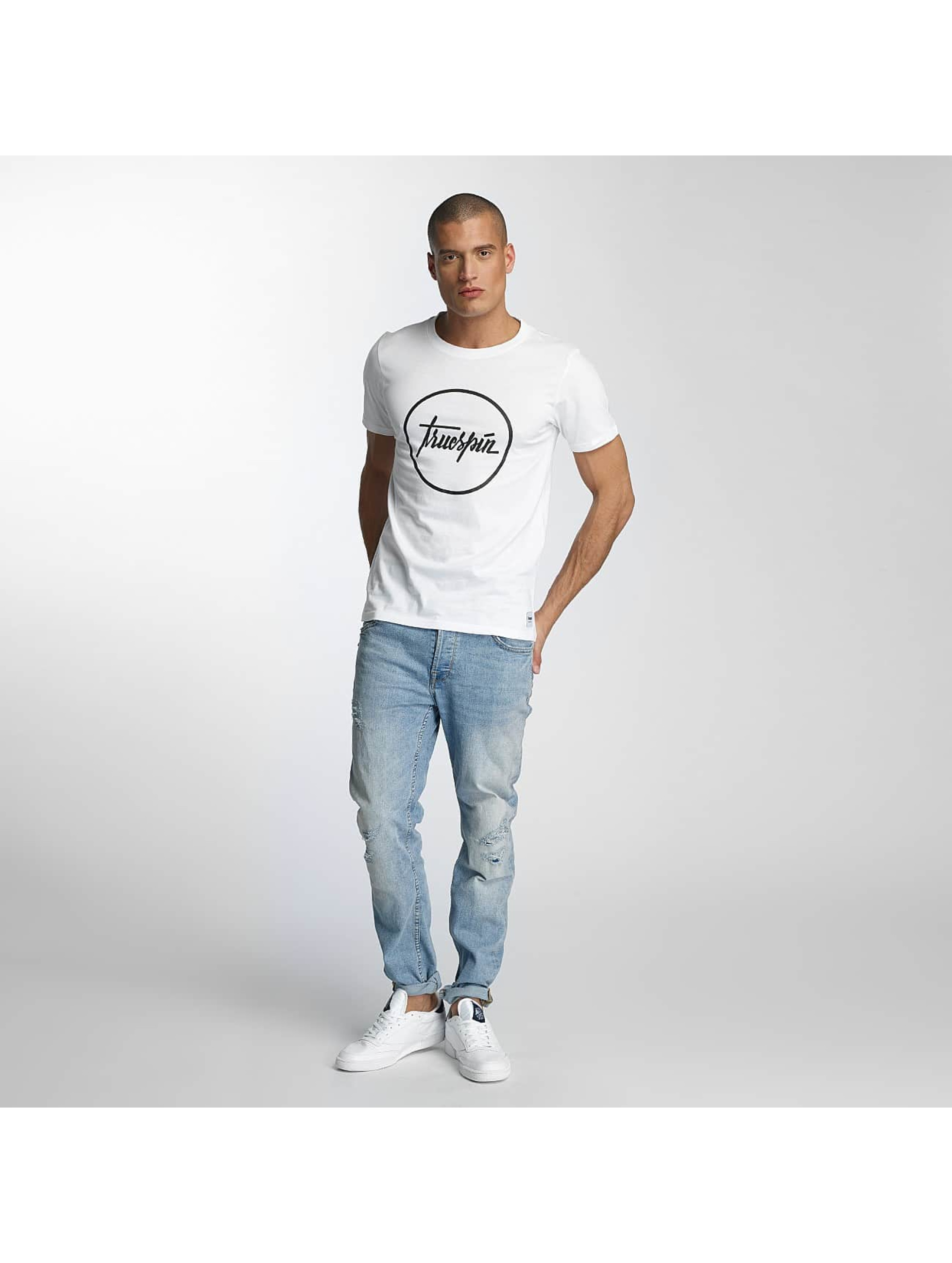 TrueSpin T-Shirty 5 bialy