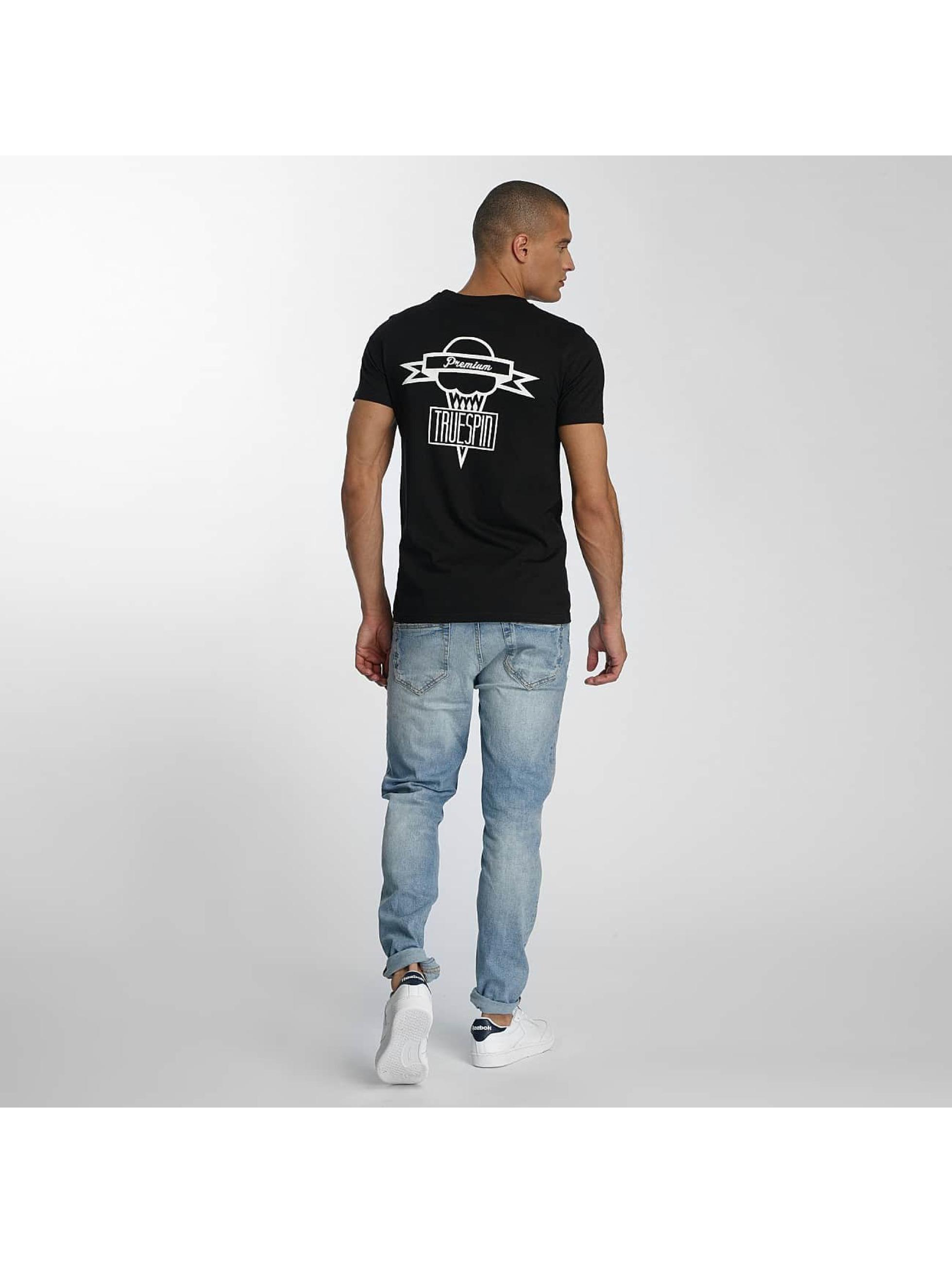 TrueSpin T-skjorter 4 svart