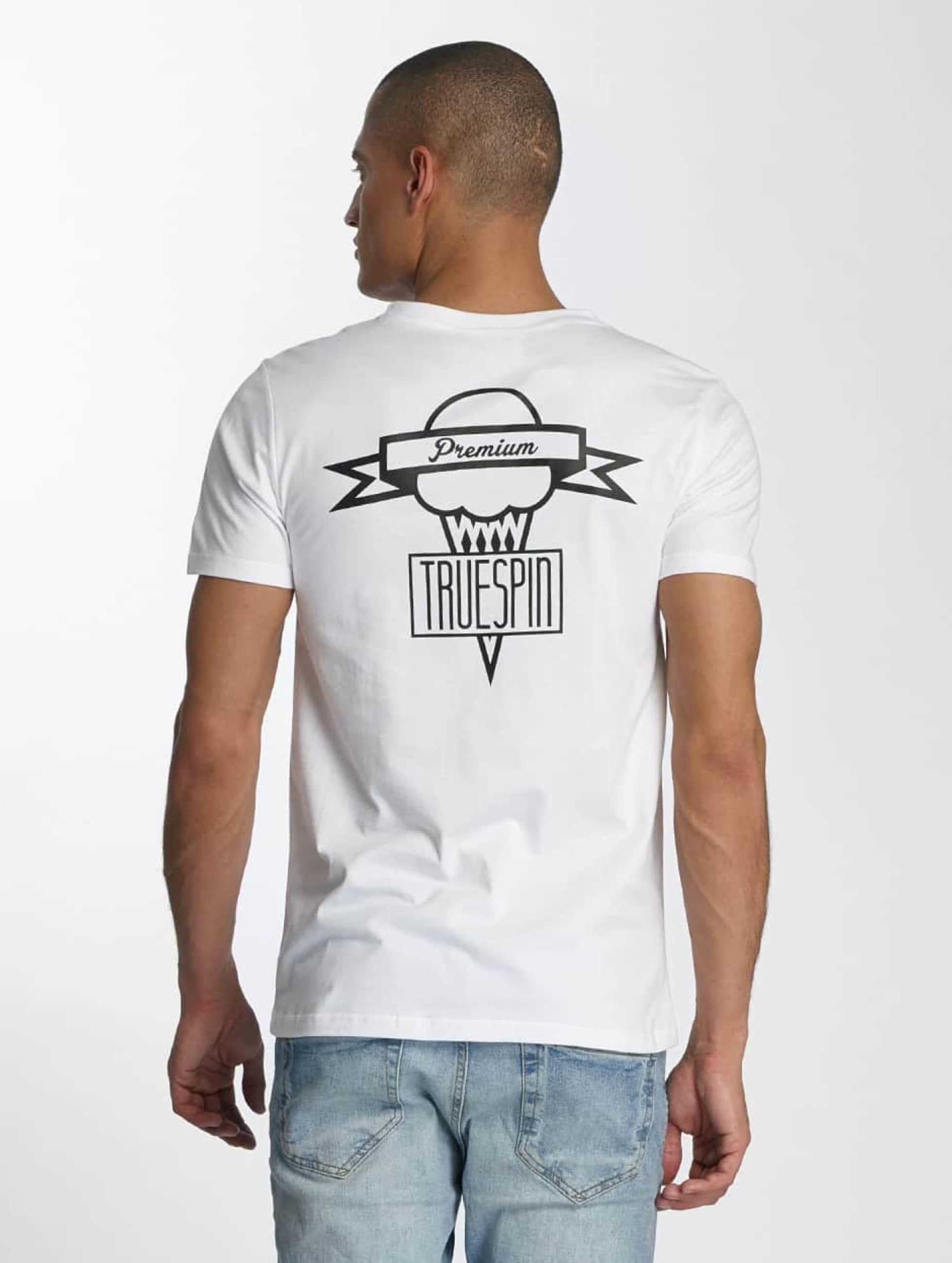 TrueSpin Tričká 4 biela