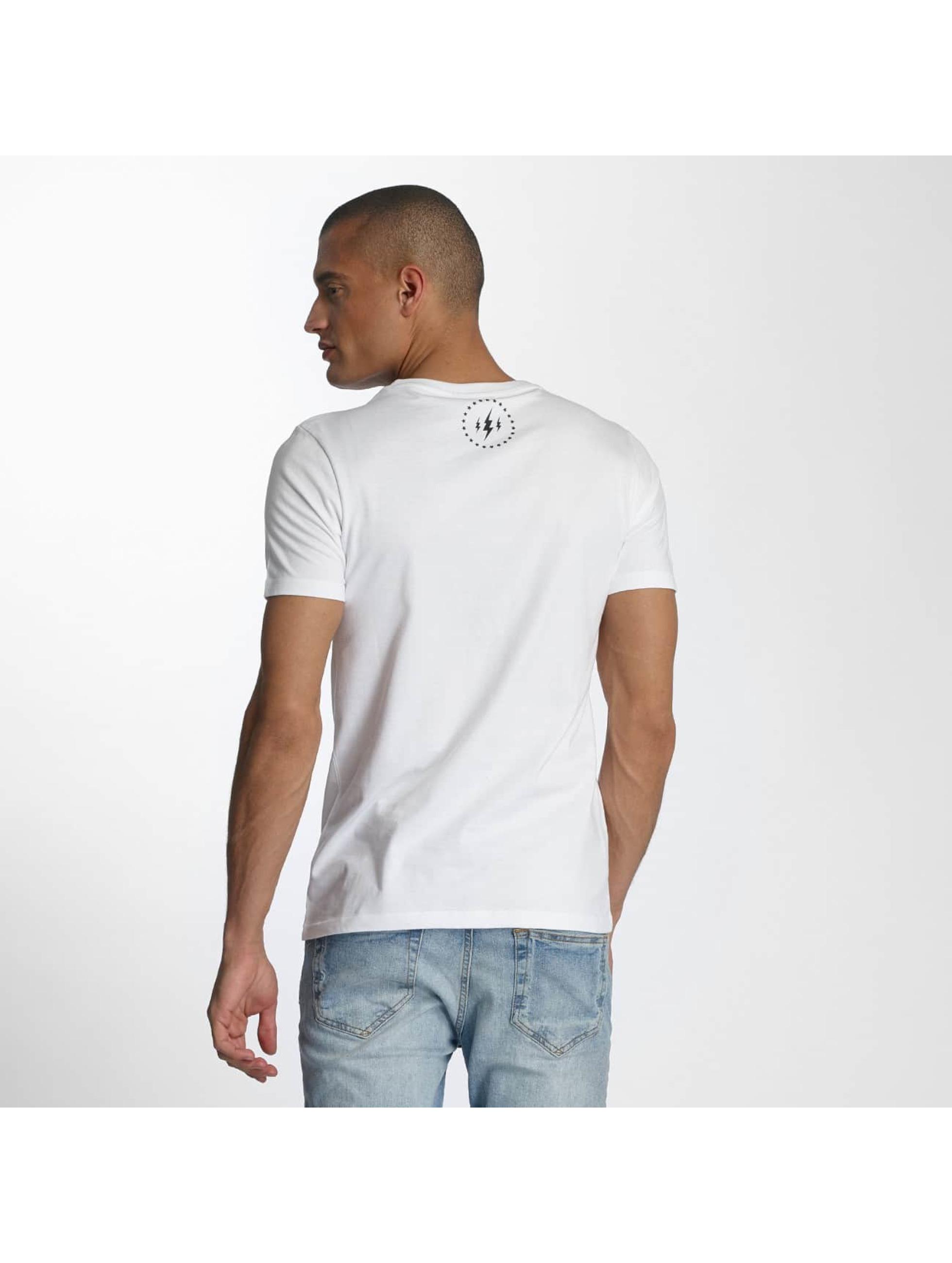 TrueSpin Tričká 7 biela