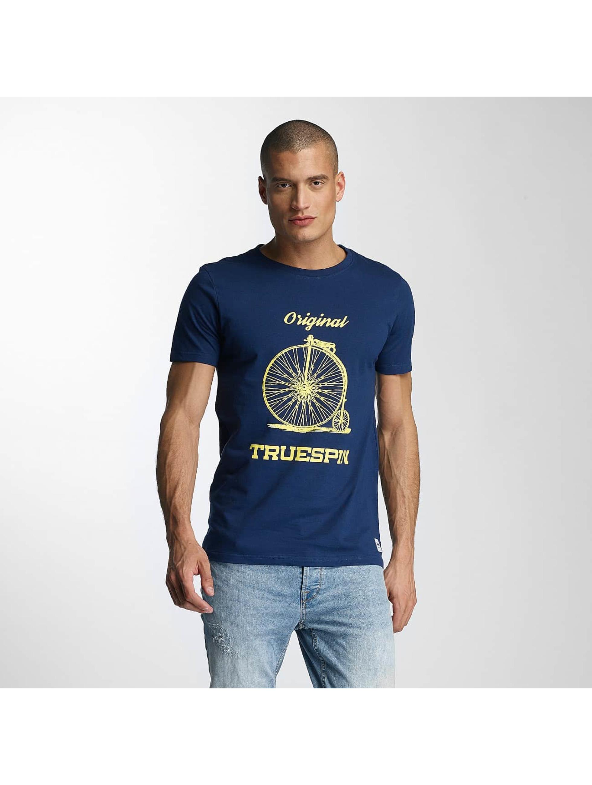 TrueSpin Tričká 6 modrá