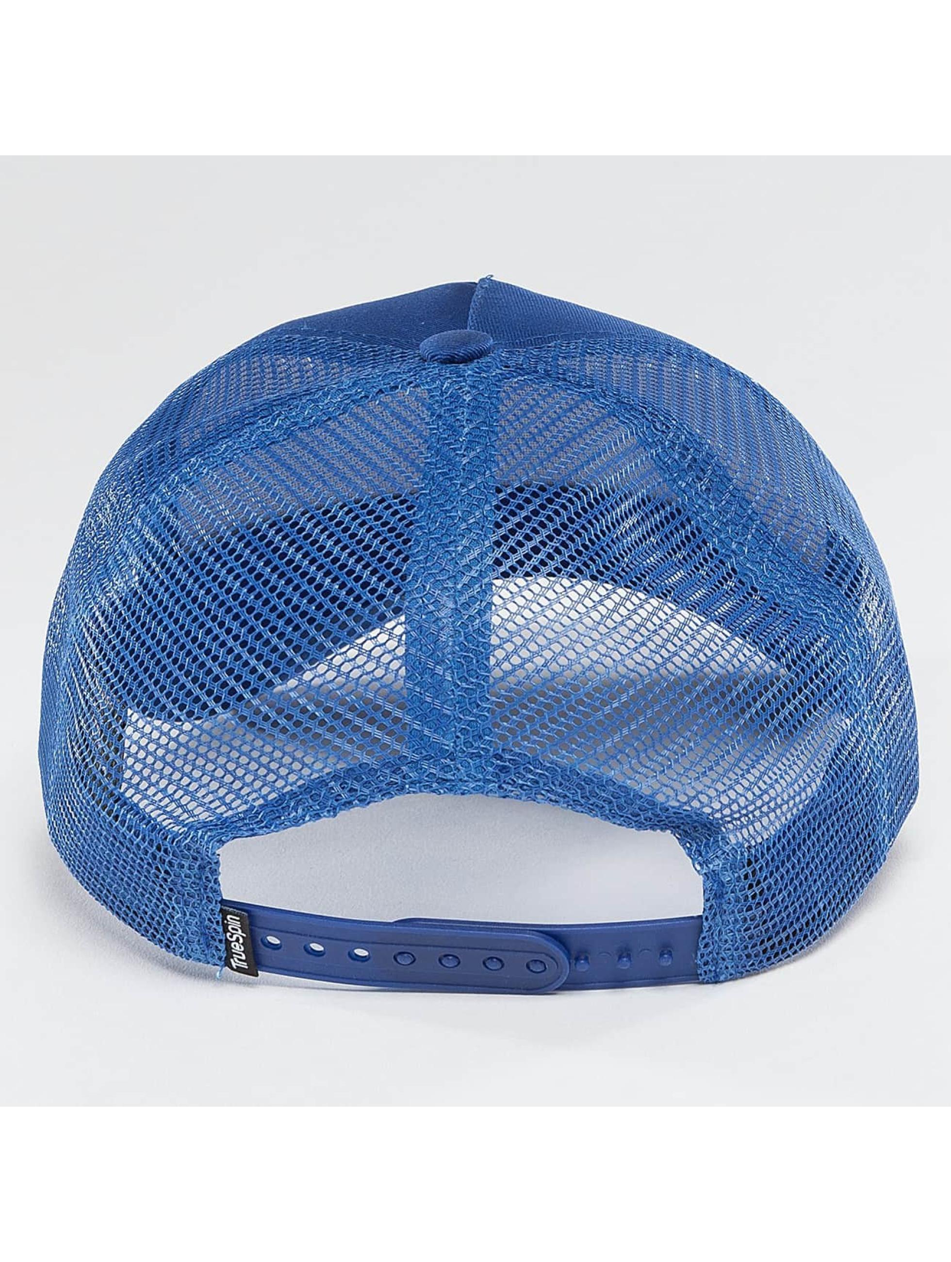 TrueSpin trucker cap Blank blauw