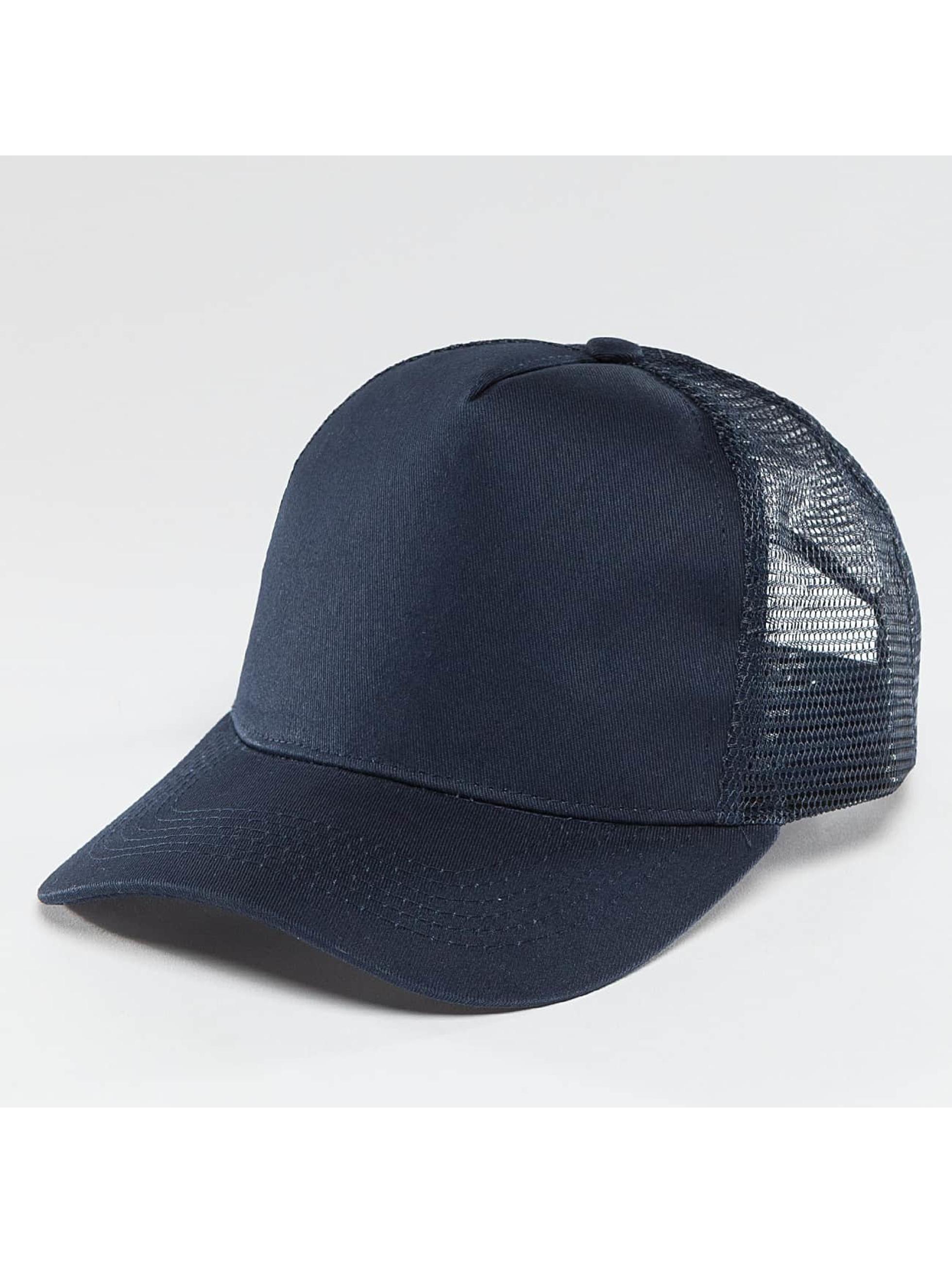 TrueSpin Trucker Caps Blank niebieski
