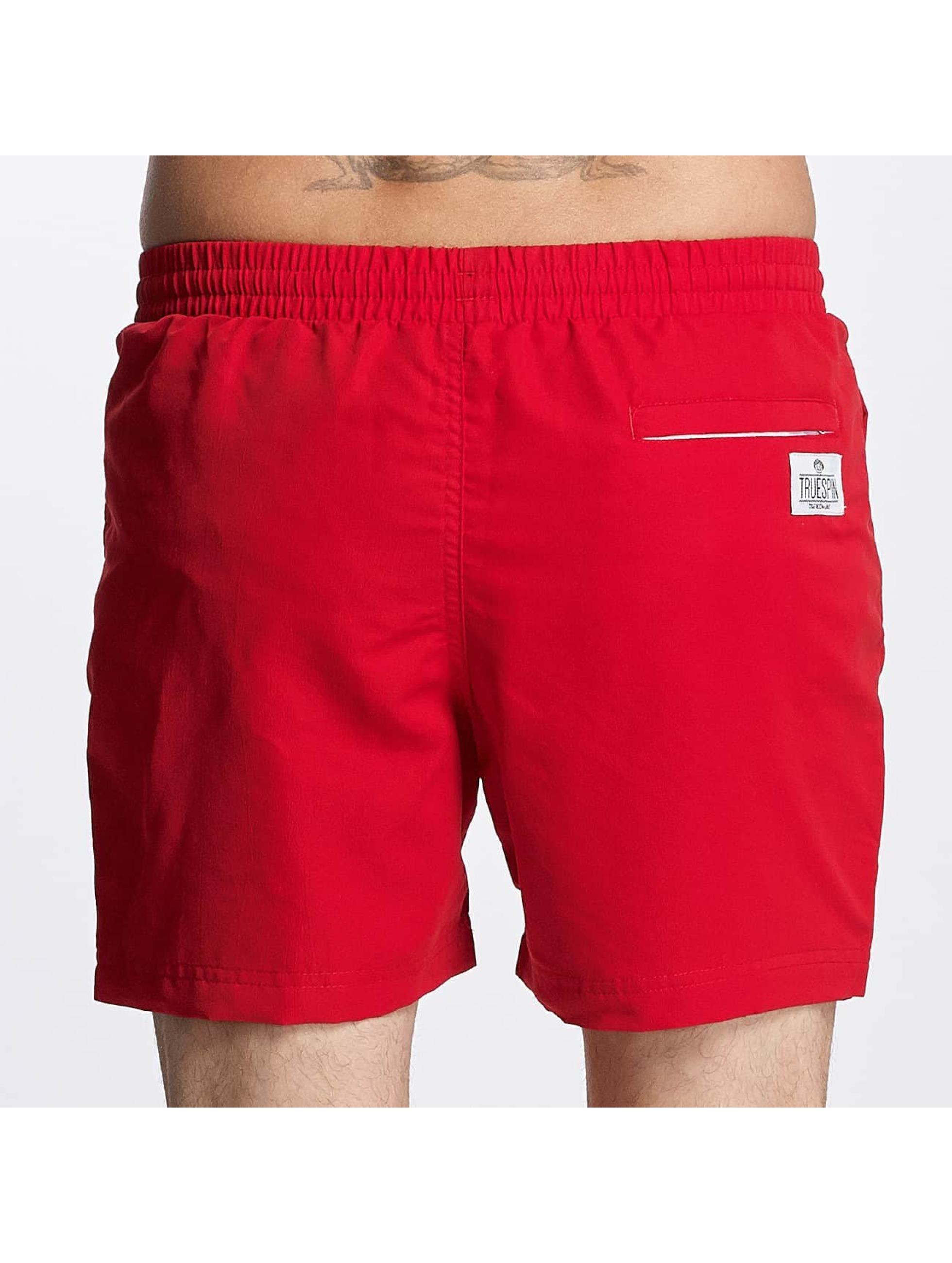 TrueSpin Uimashortsit Swimming punainen