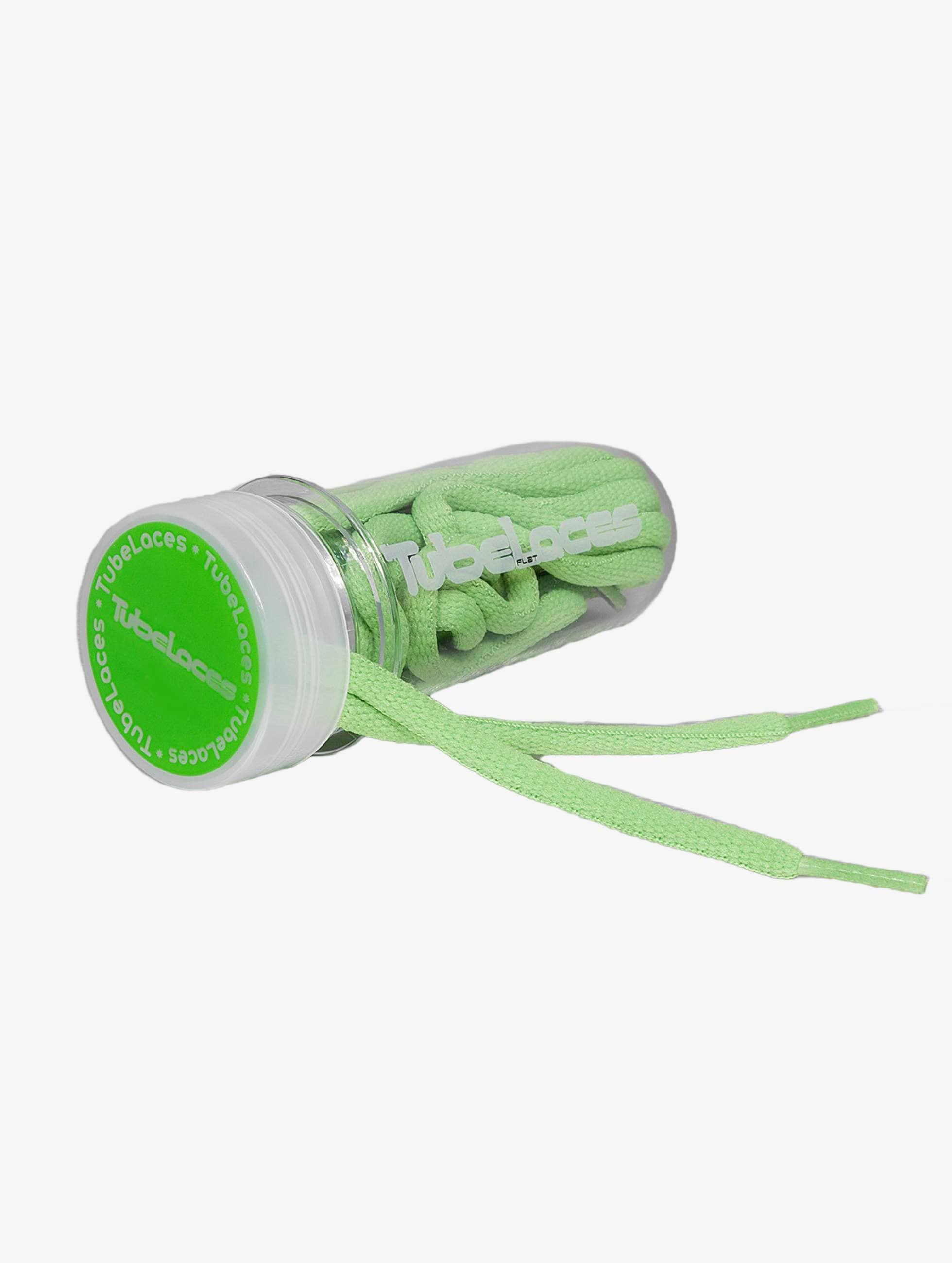 Tubelaces шнурки Pad Laces 130cm зеленый
