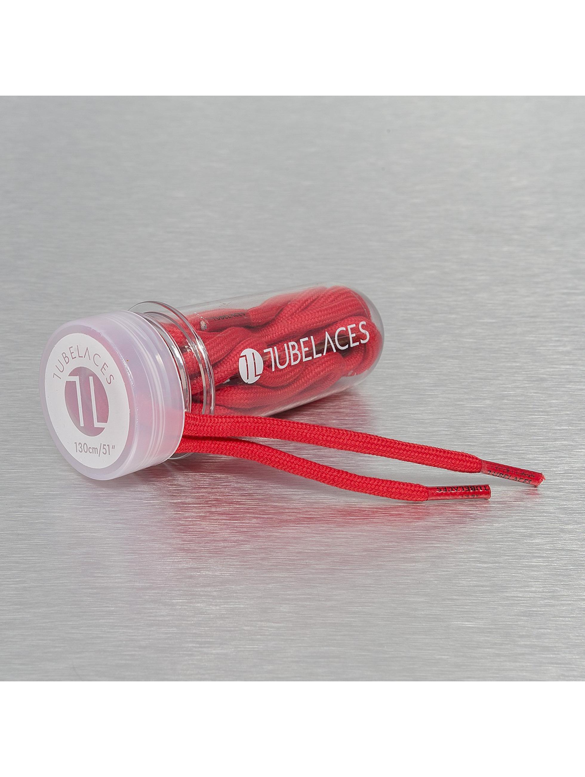 Tubelaces шнурки Rope Solid красный