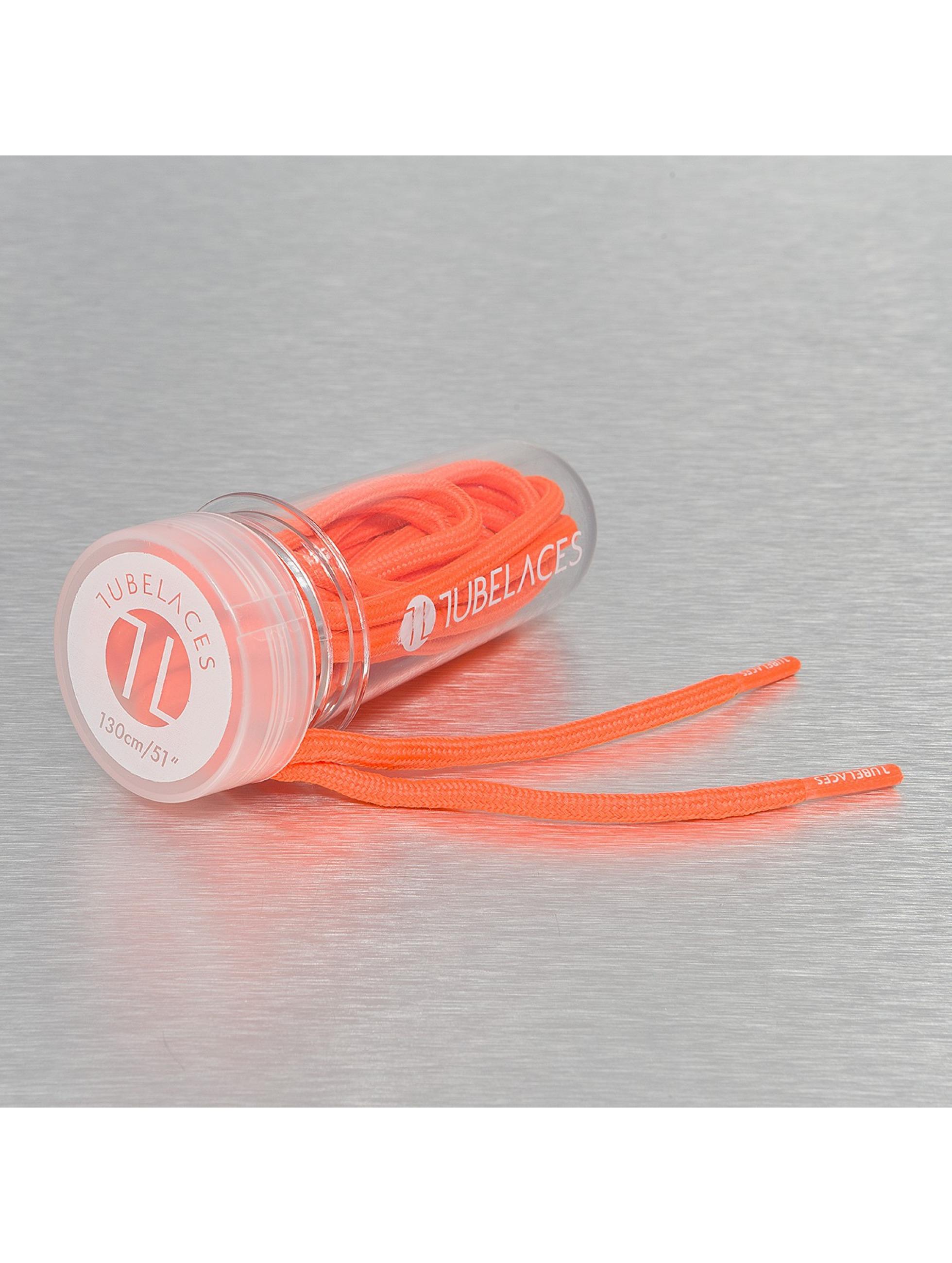 Tubelaces шнурки Rope Solid оранжевый