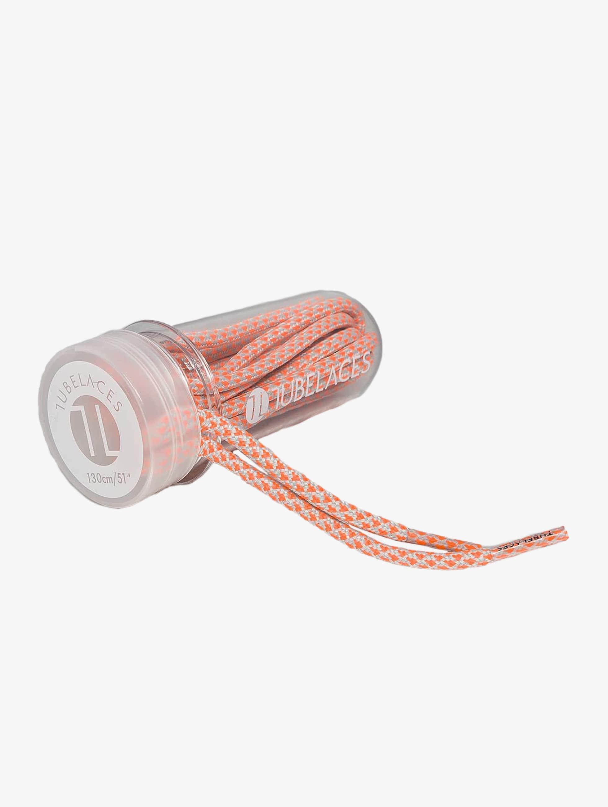 Tubelaces шнурки Rope Multi оранжевый