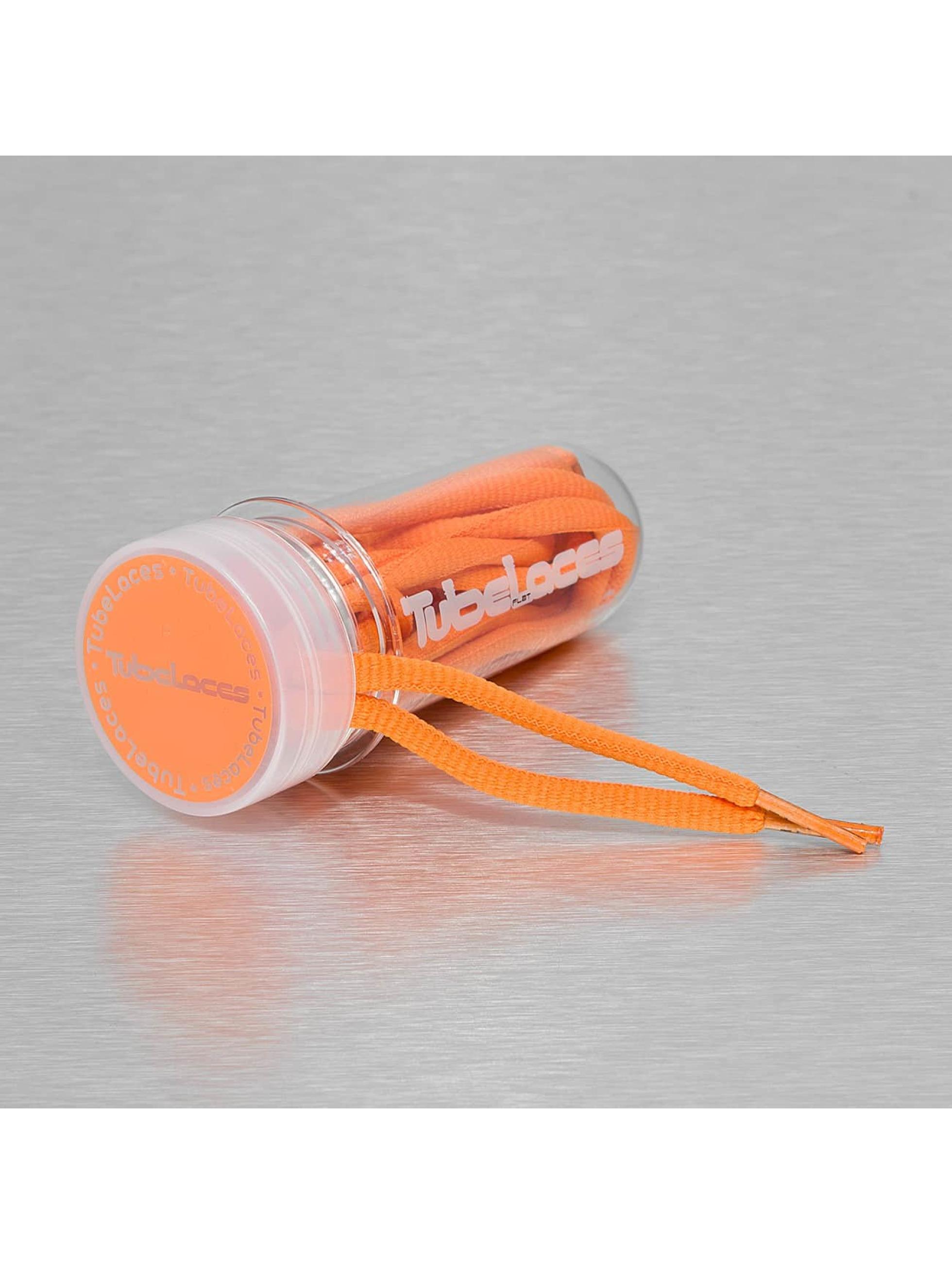 Tubelaces шнурки Pad Laces 130cm оранжевый