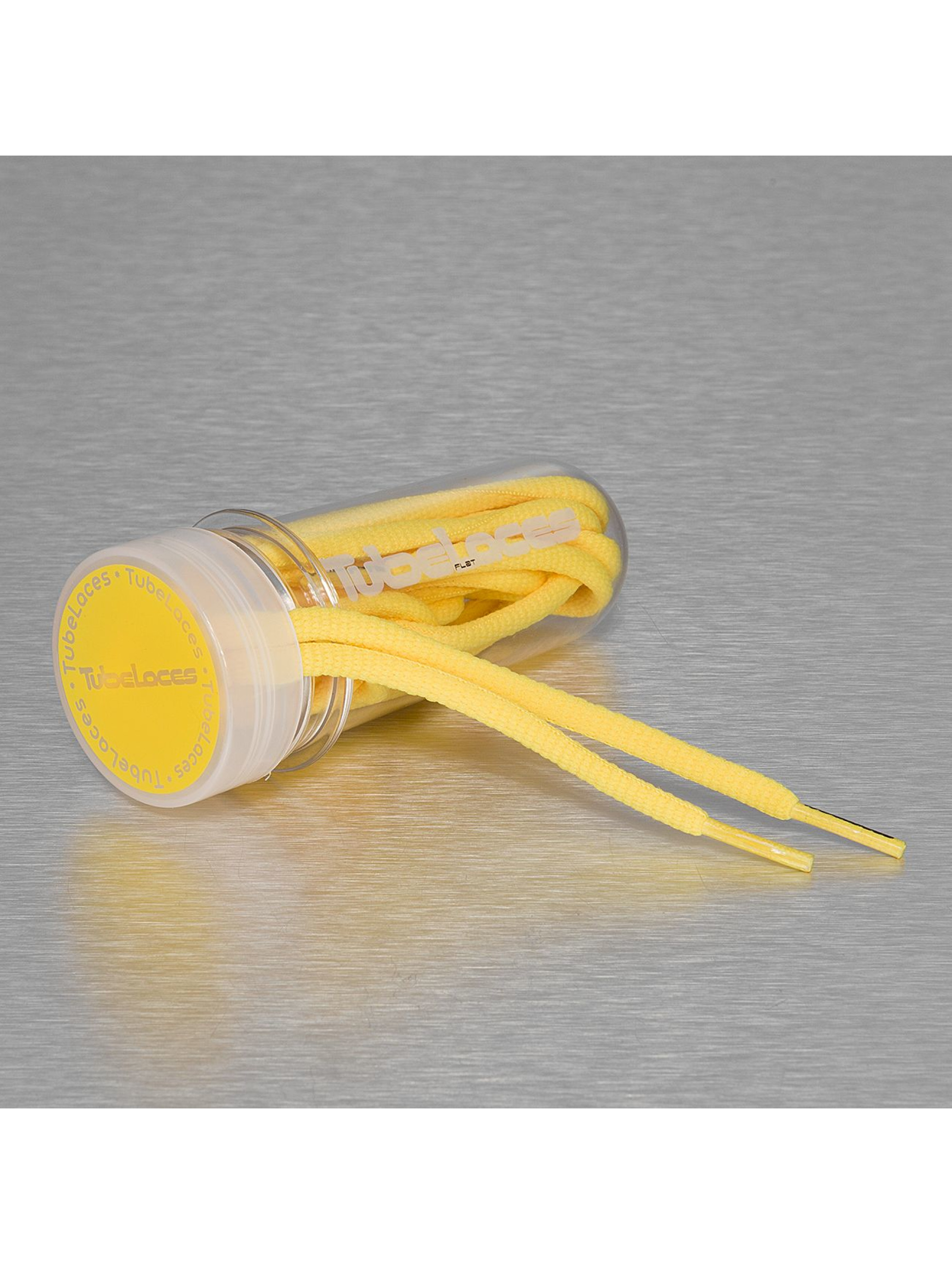 Tubelaces Kengännauha Pad Laces 130cm keltainen