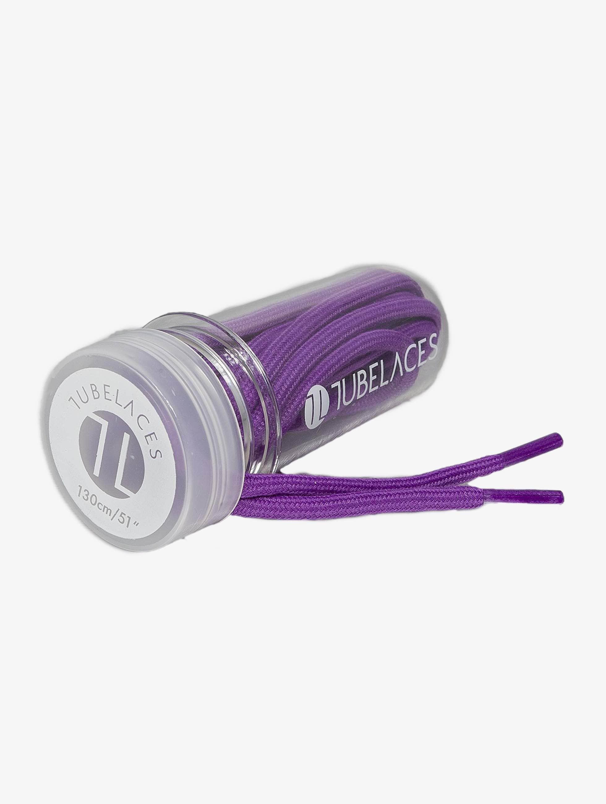 Tubelaces Kengännauhat Rope Solid purpuranpunainen