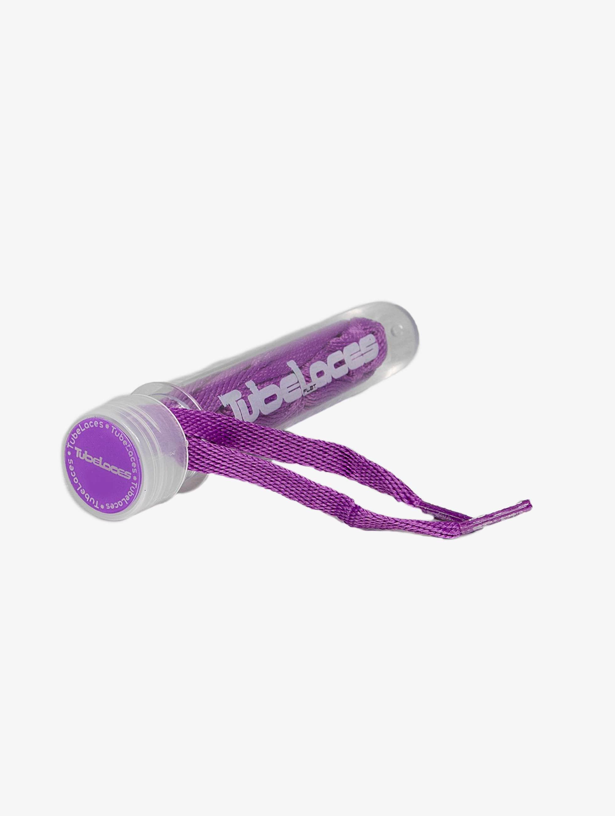 Tubelaces Kengännauhat Flat Laces 140cm purpuranpunainen