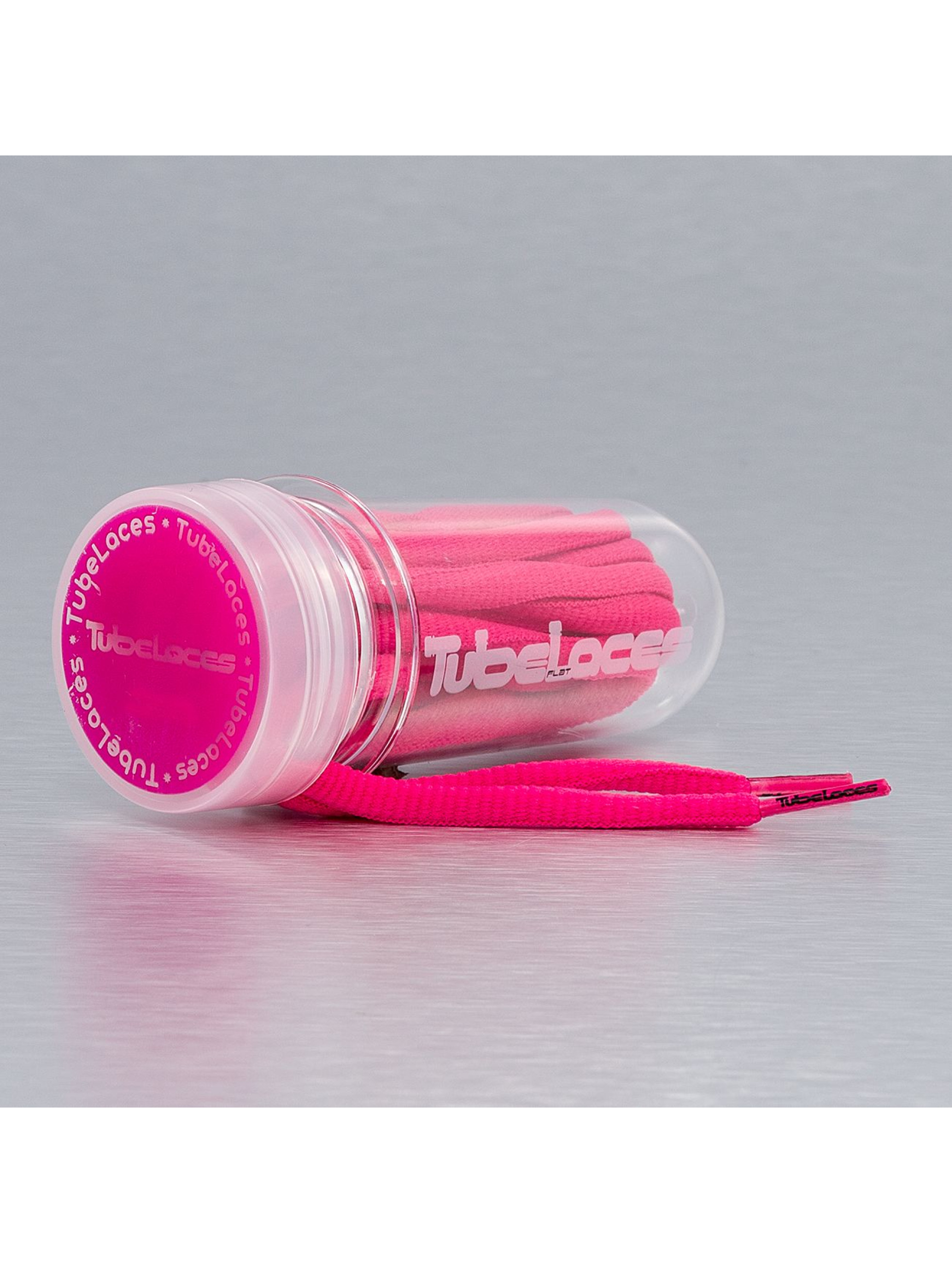 Tubelaces Kengännauhat Pad Laces 130cm vaaleanpunainen