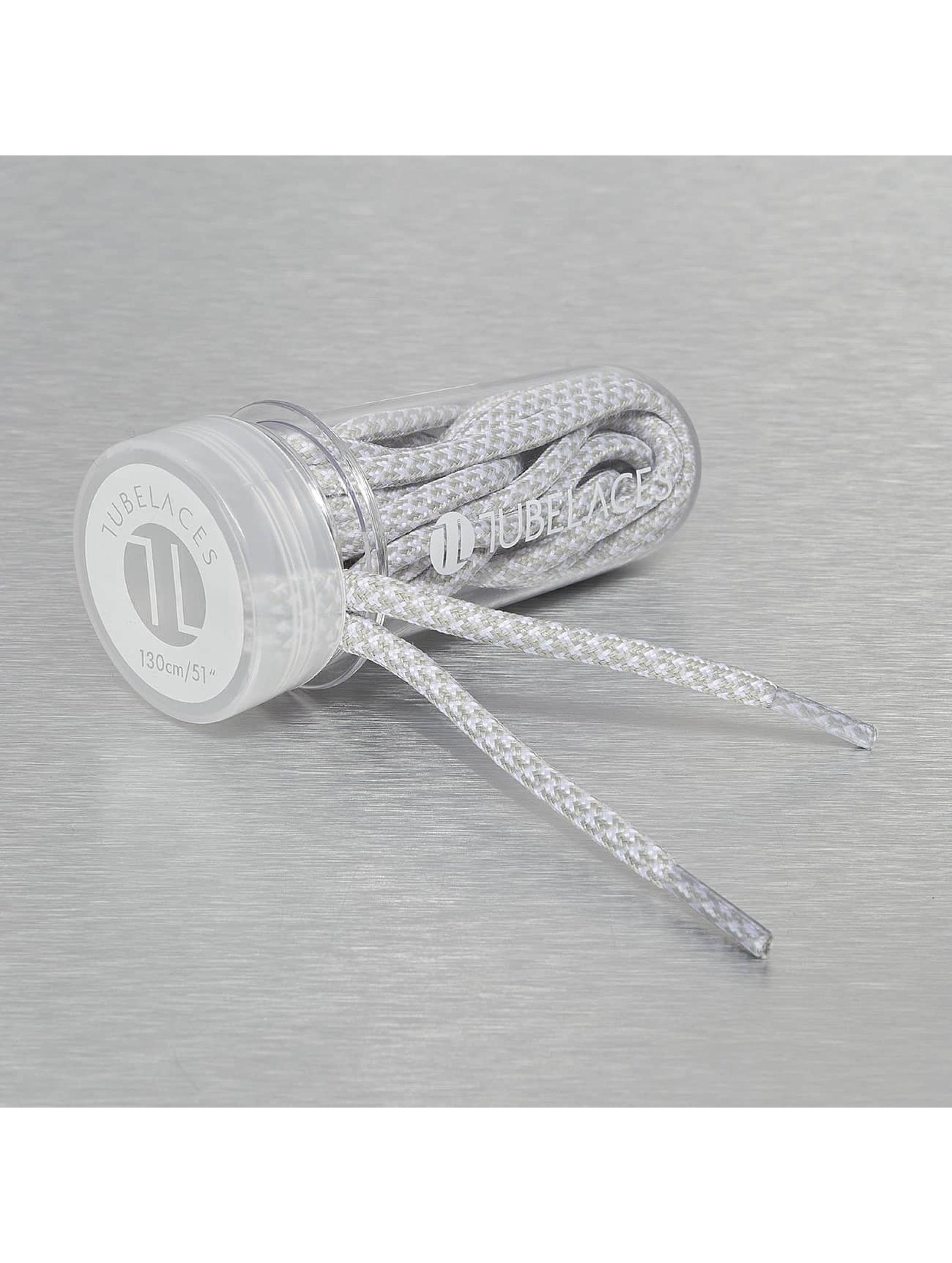 Tubelaces Kengännauhat Rope Multi valkoinen