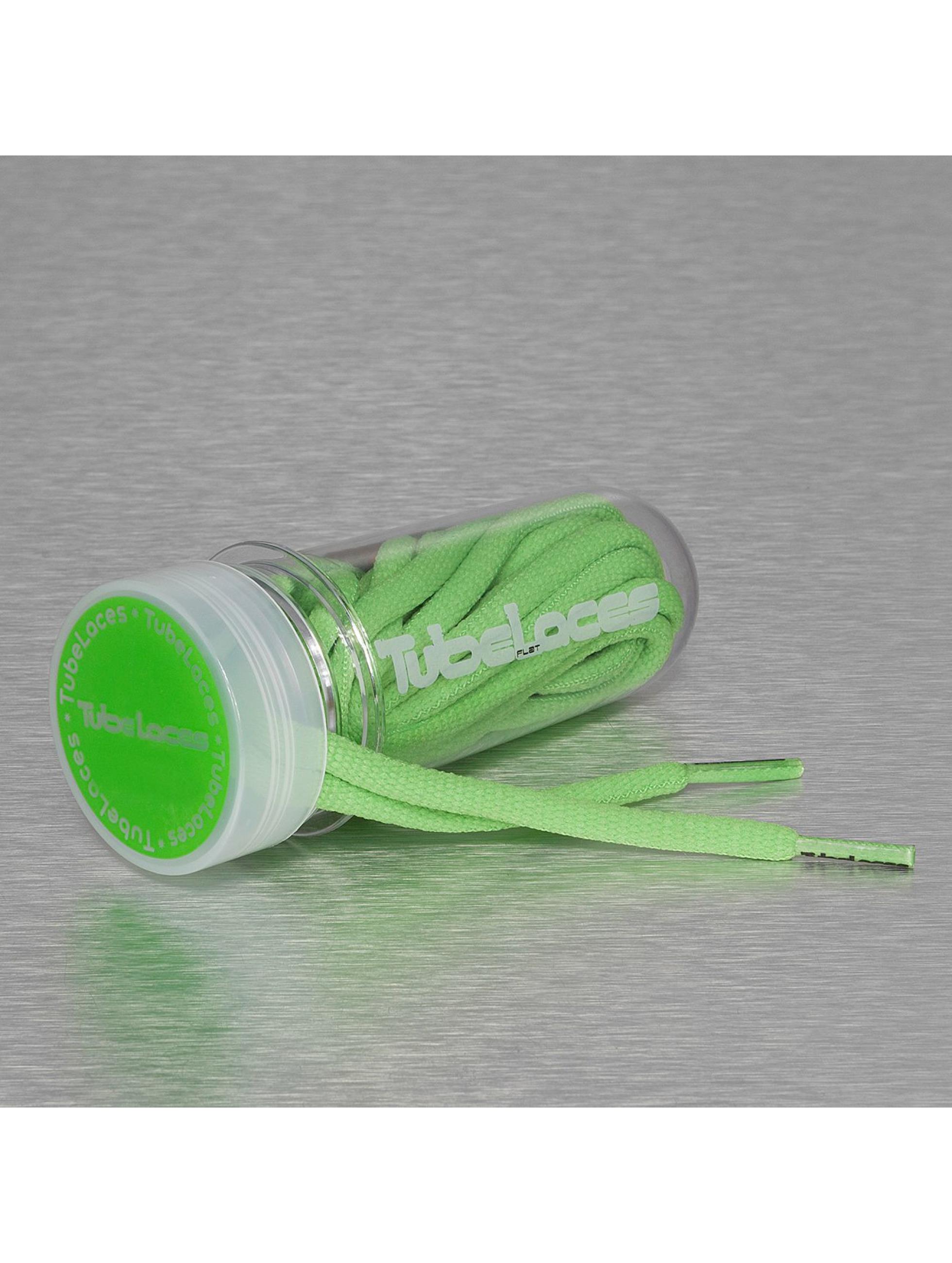 Tubelaces Kengännauhat Pad Laces 180cm vihreä