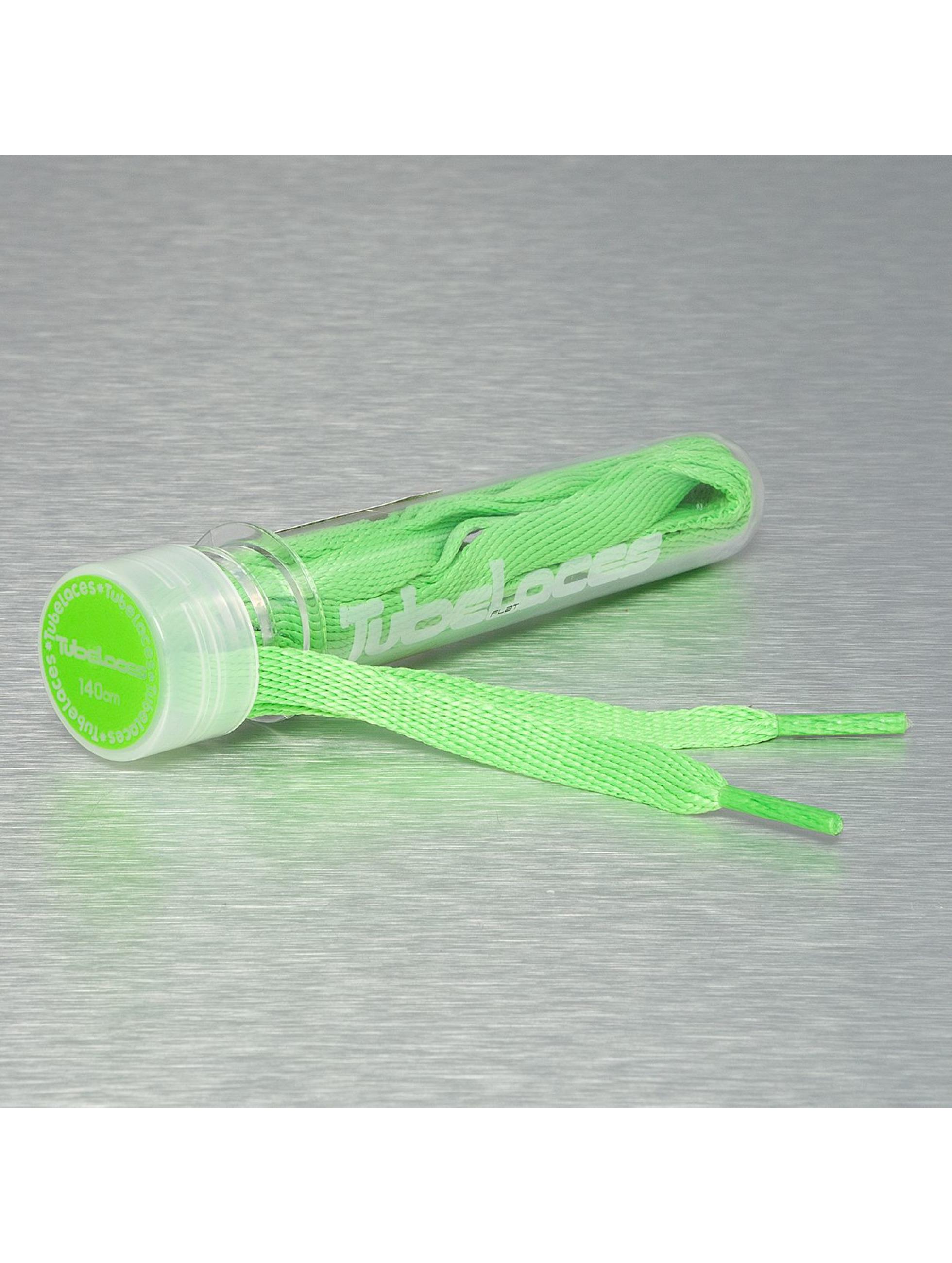 Tubelaces Kengännauhat Flat Laces 140cm vihreä