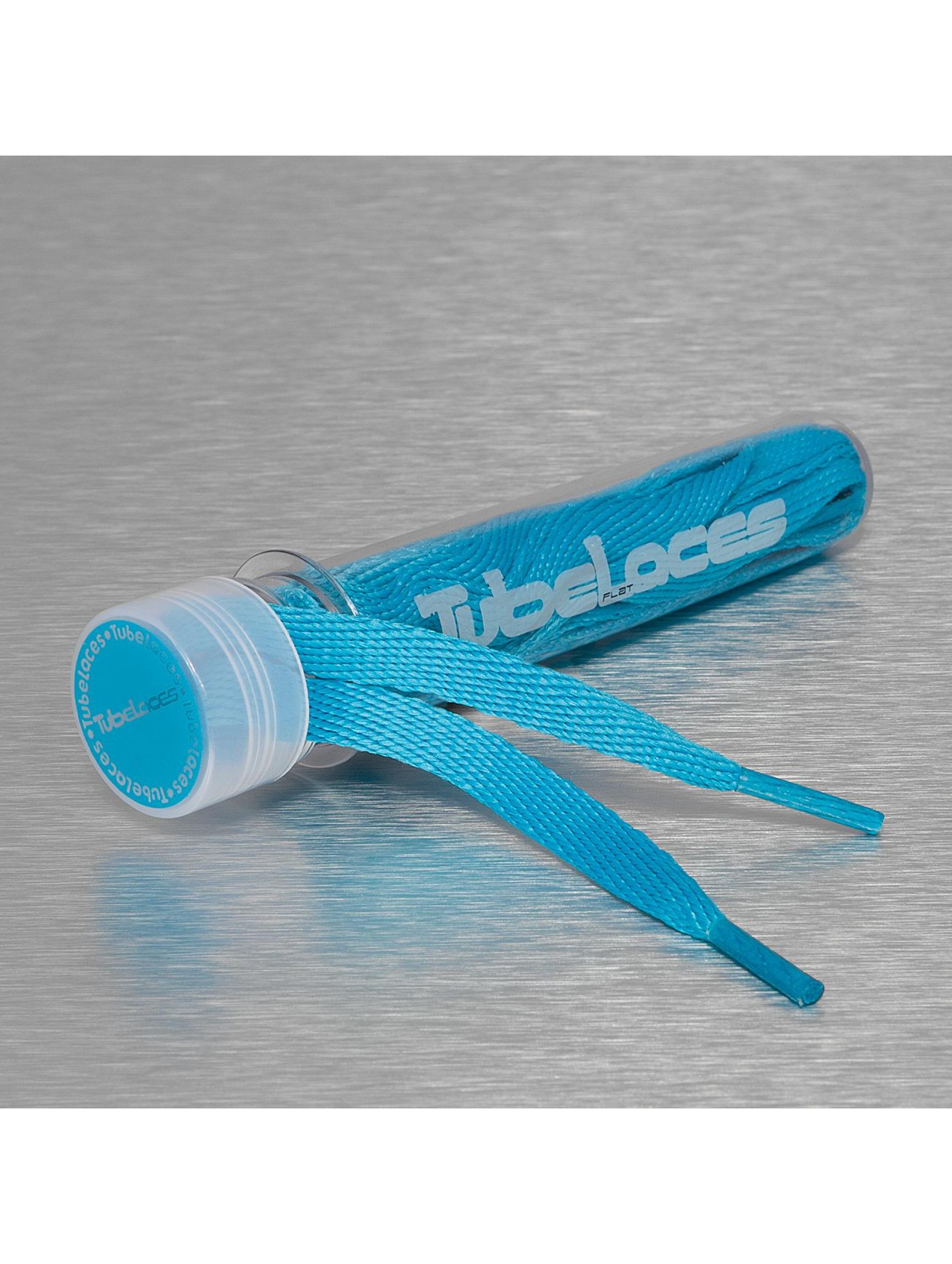 Tubelaces Lacet Flat Laces 140cm bleu