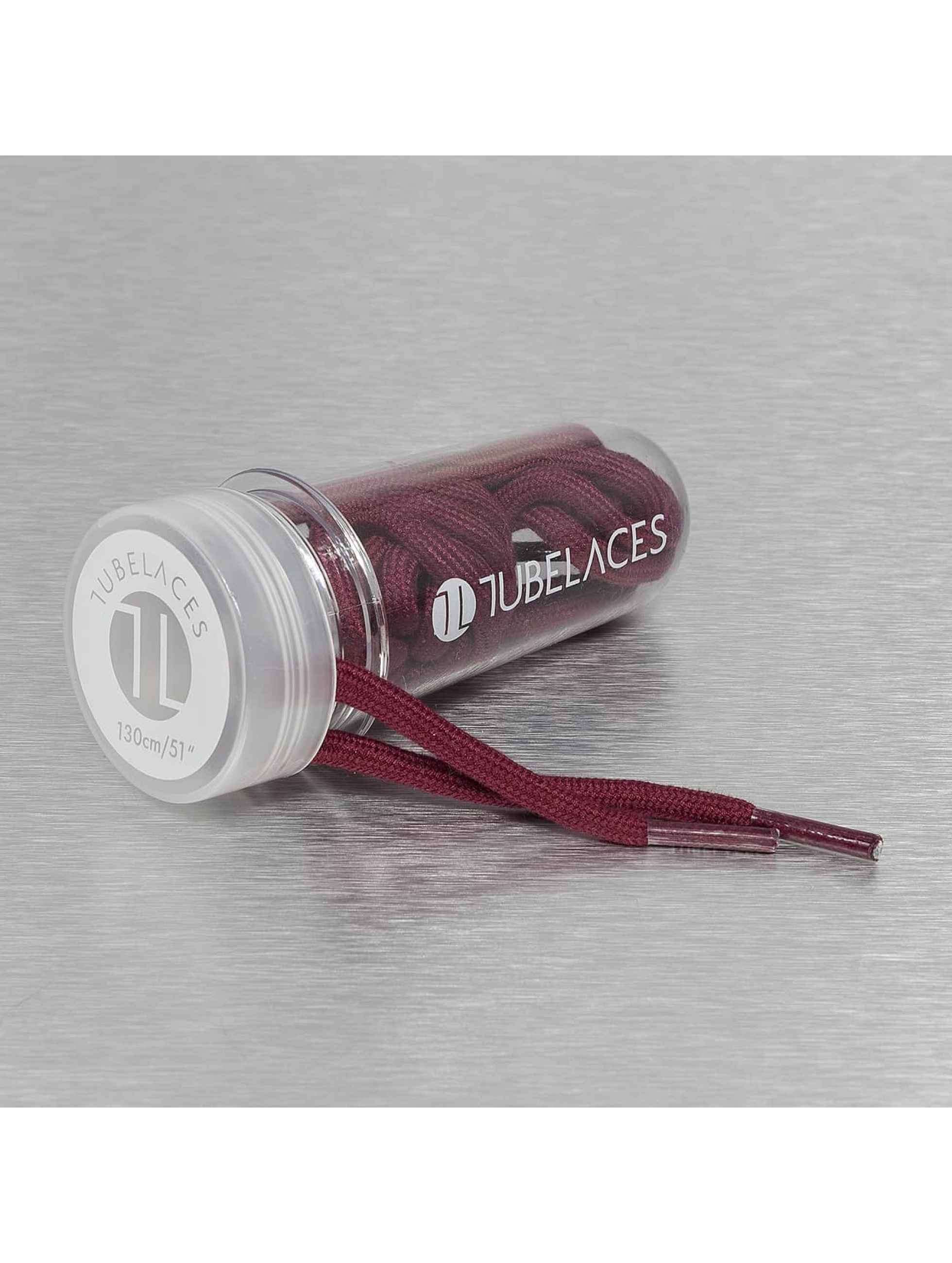 Tubelaces Lacet Rope Solid rouge