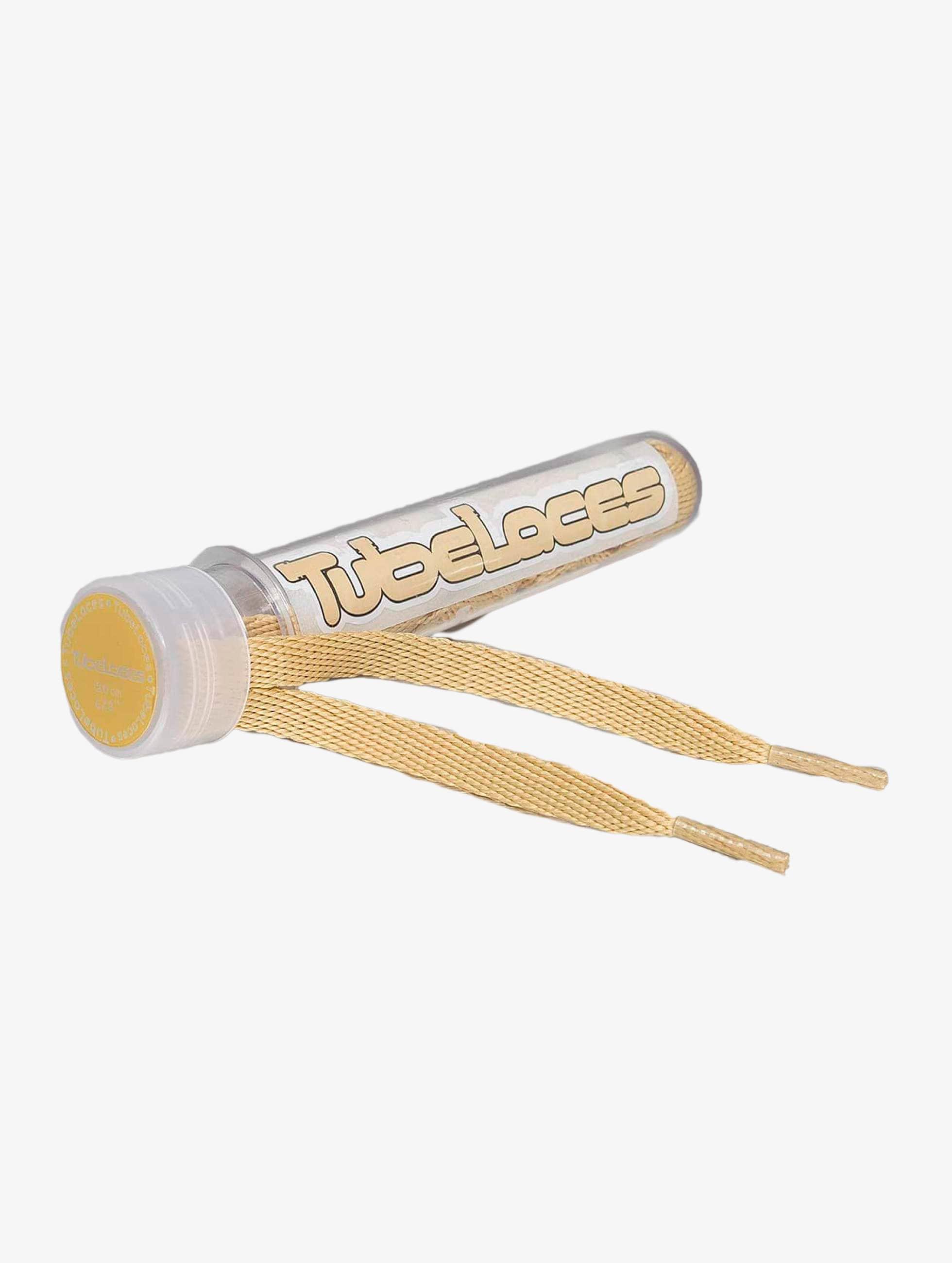 Tubelaces Schnüsenkel Flat Laces beige