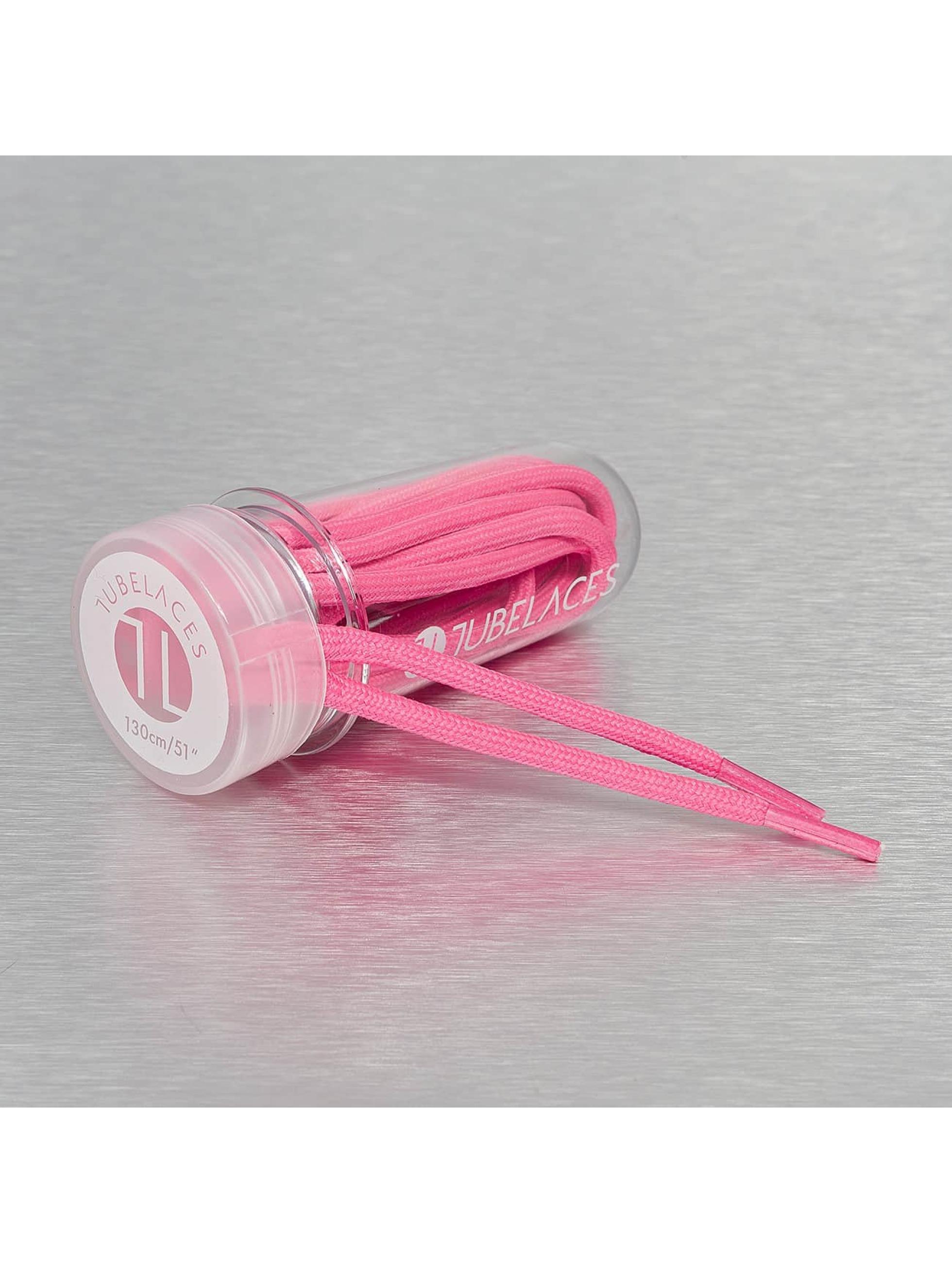 Tubelaces Schuhzubehör Rope Solid pink