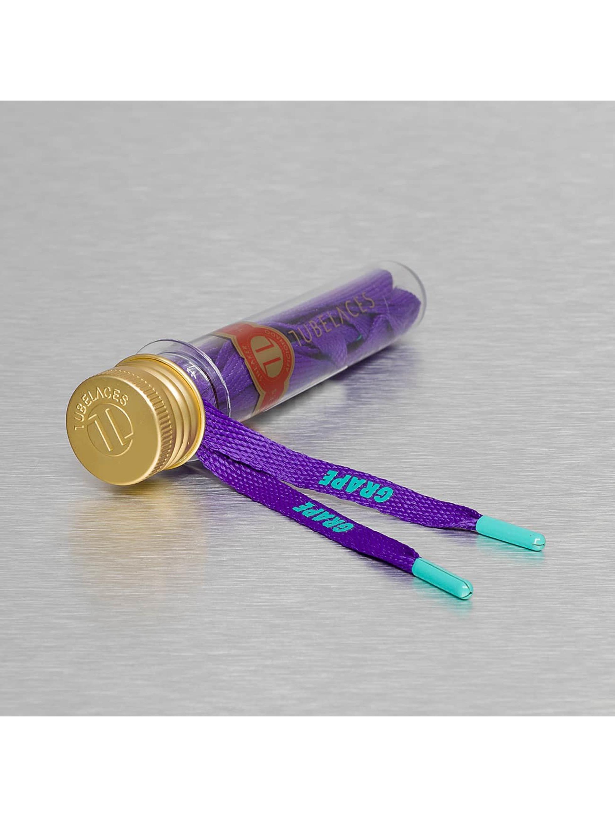 Tubelaces Schuhzubehör Flat Hook Up violet