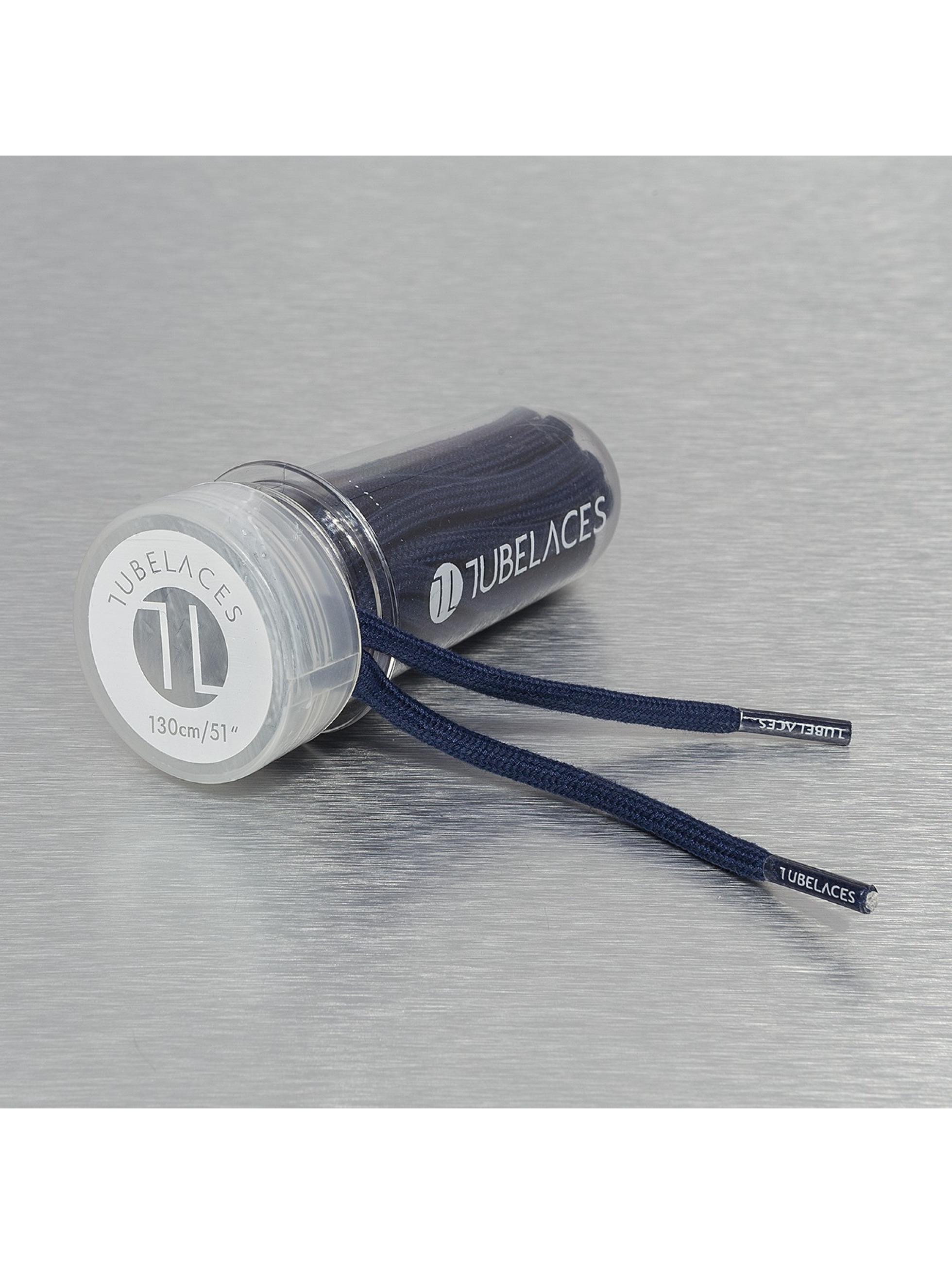 Tubelaces Veter Rope Solid blauw