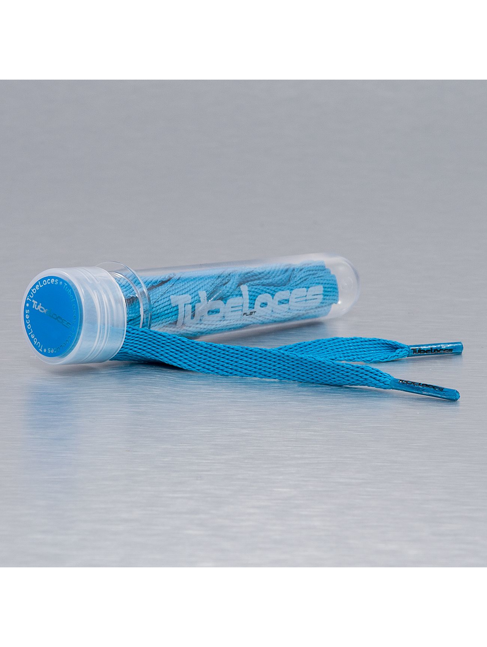 Tubelaces Veter Flat Laces 120cm blauw
