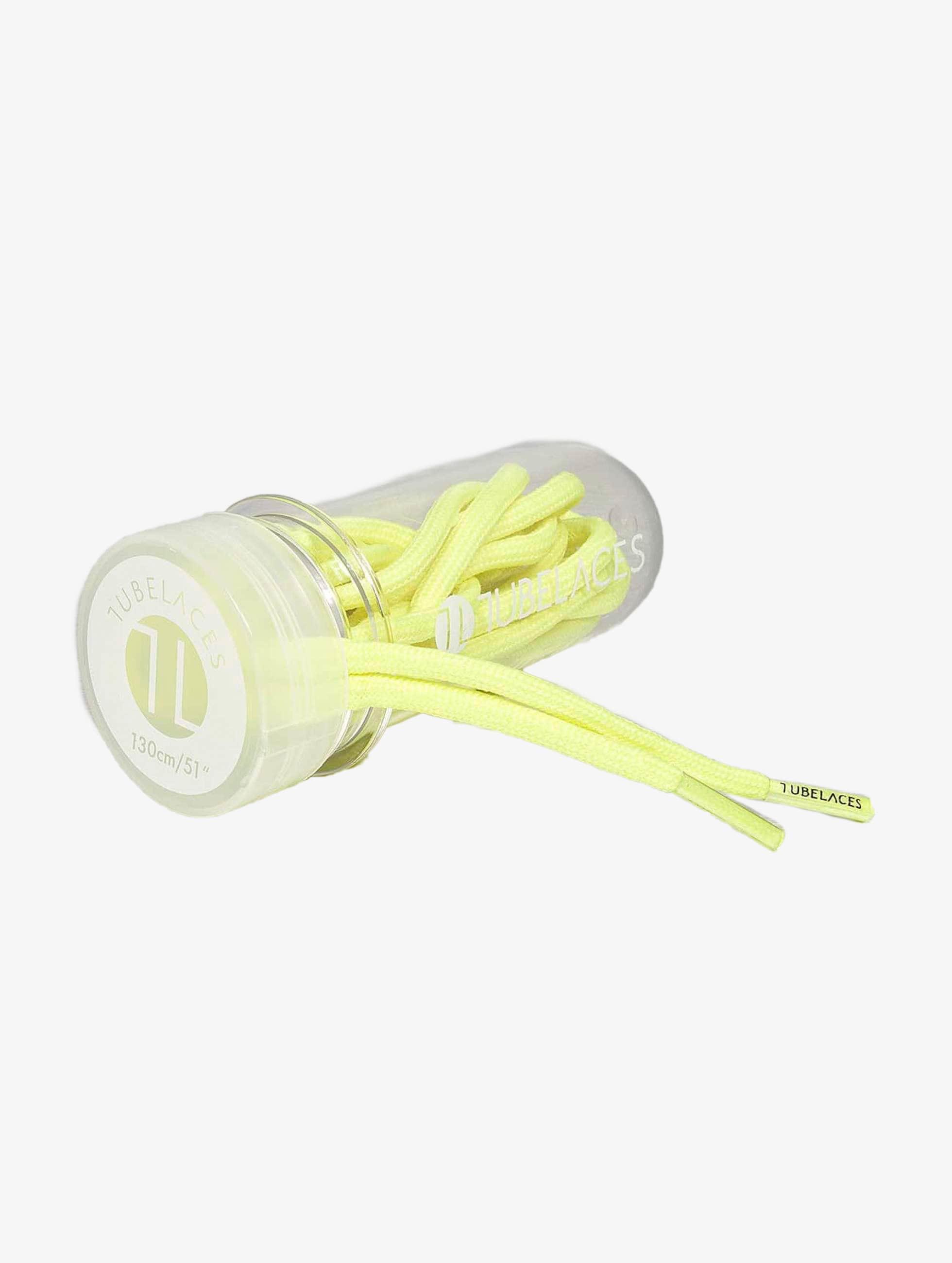 Tubelaces Veter Rope Solid geel