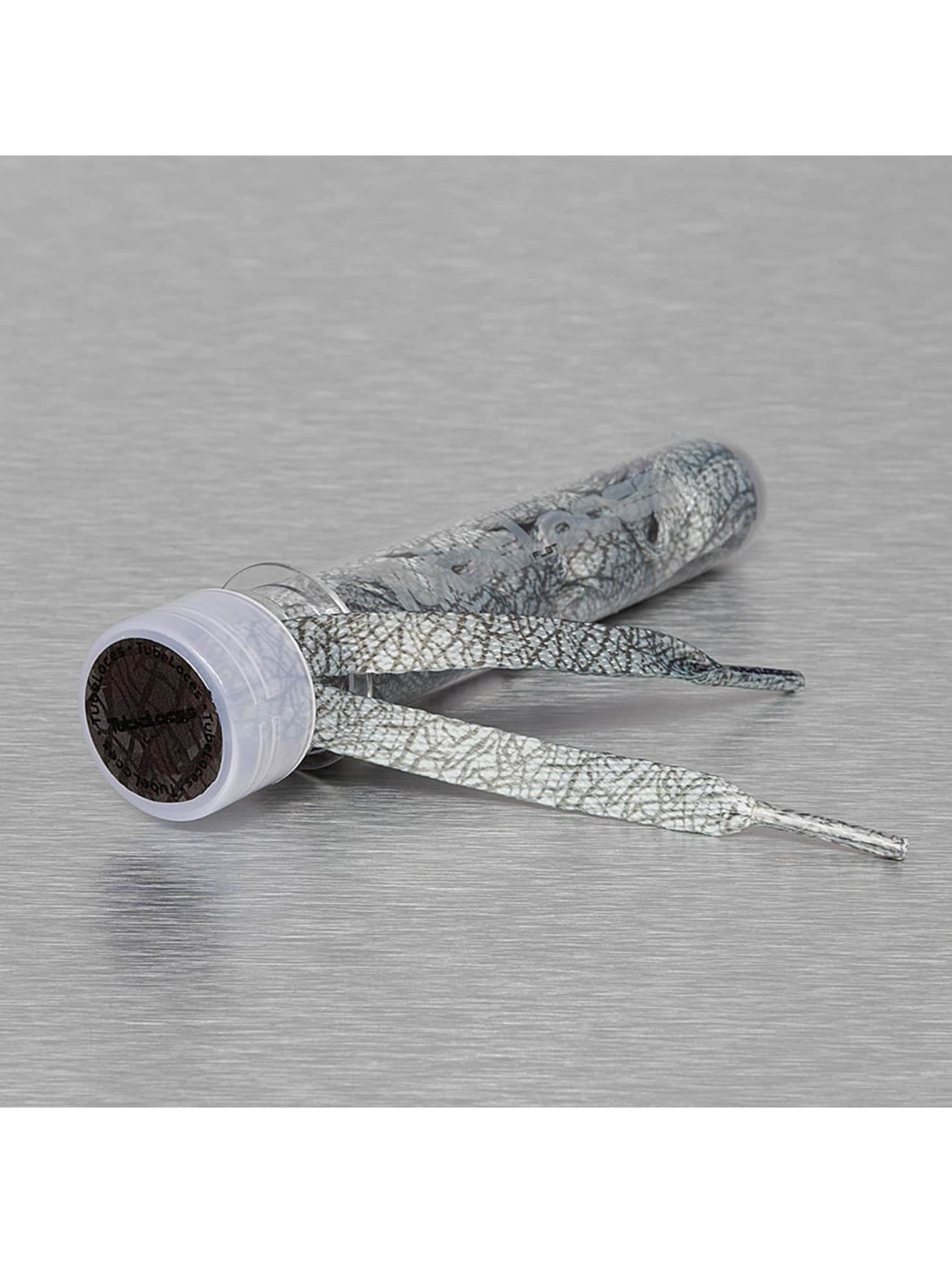 Tubelaces Veter Special Flat Laces 140 cm grijs