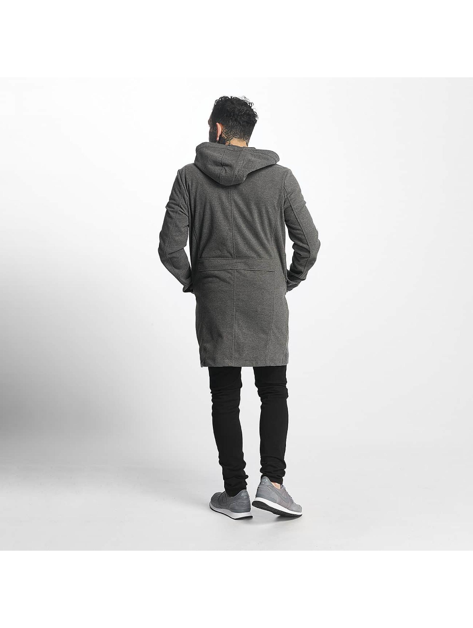 Tuffskull Пальто chicago серый