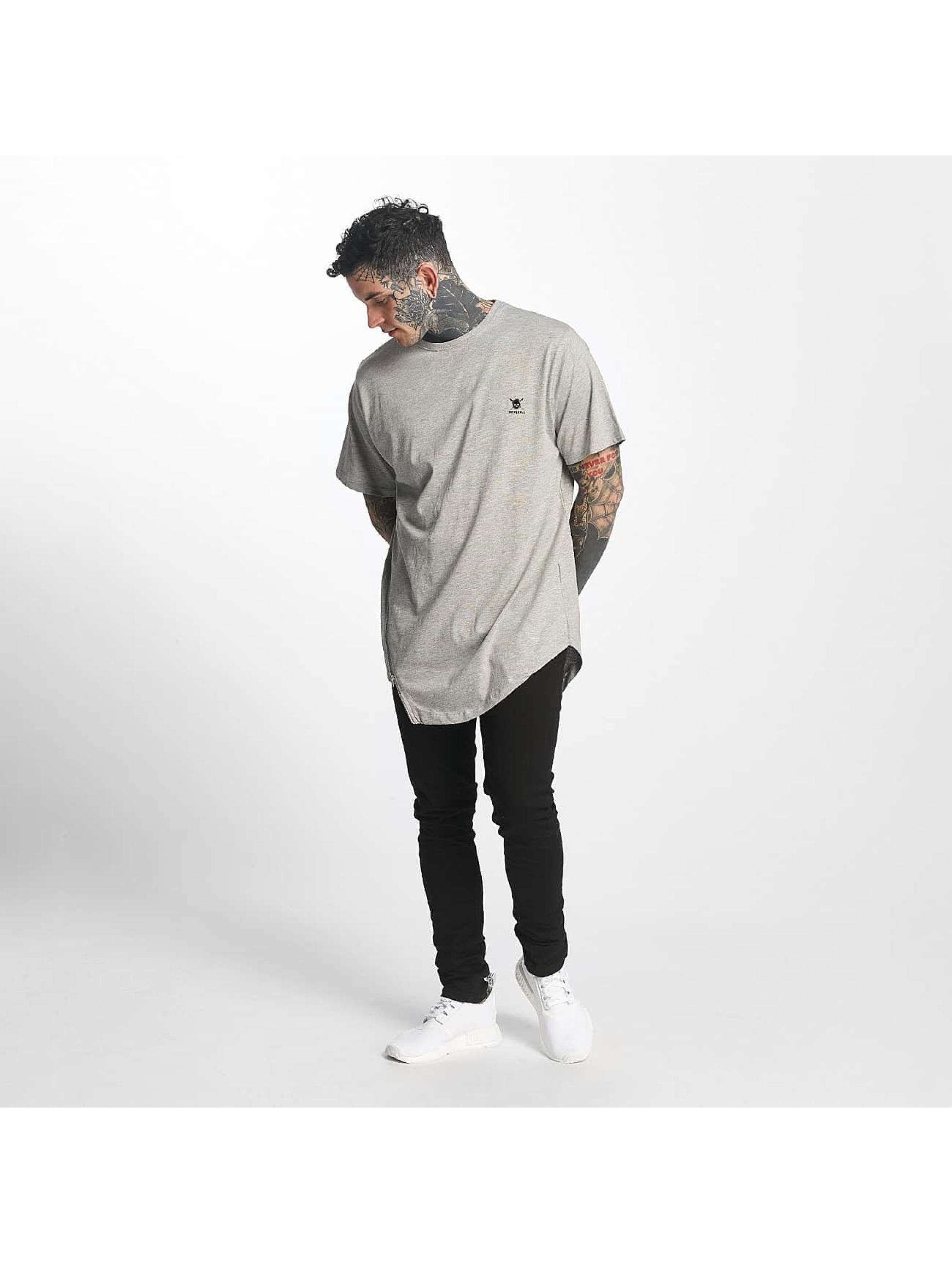Tuffskull Camiseta Zipline gris