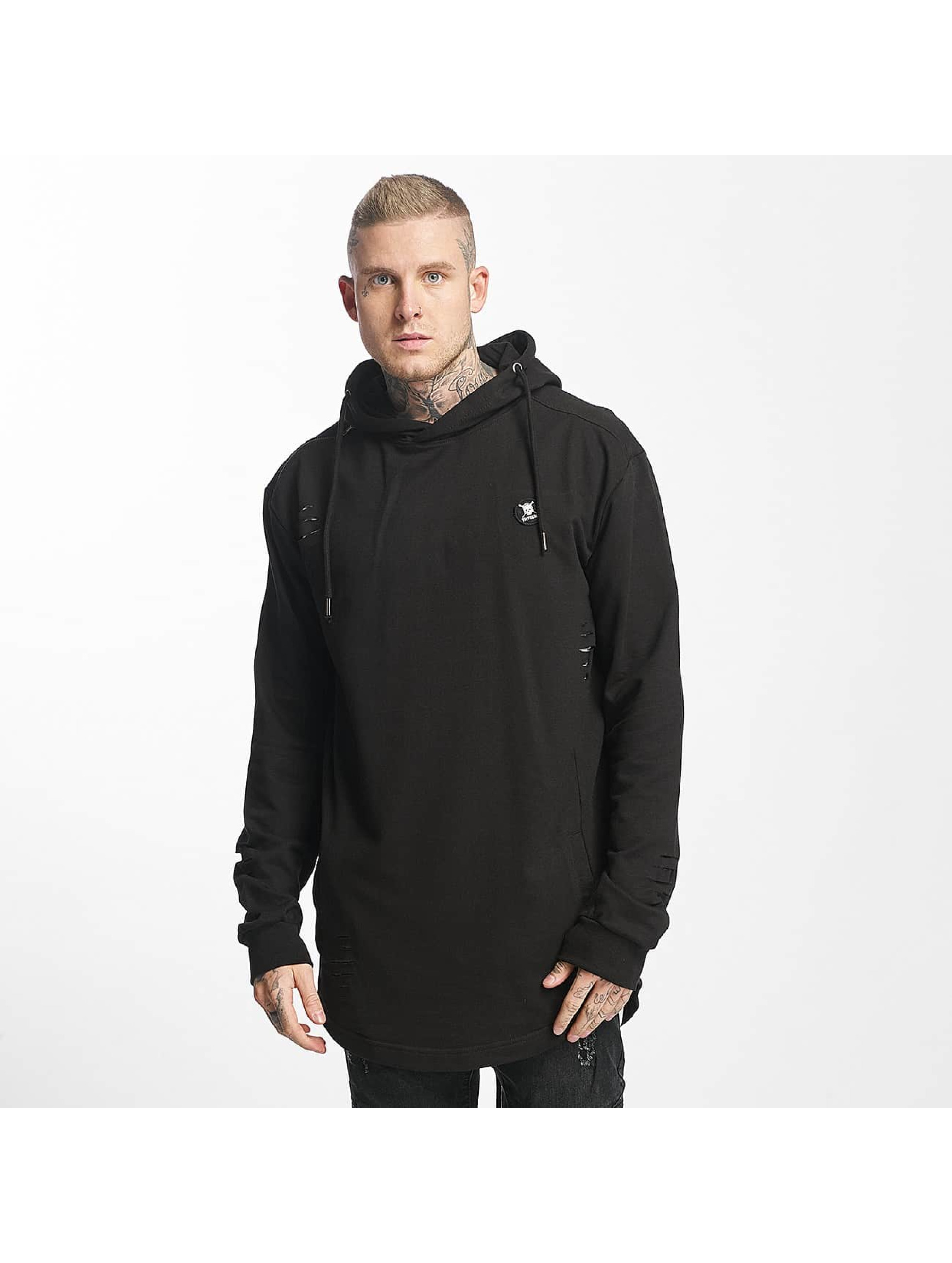 Tuffskull Sweat capuche Long noir