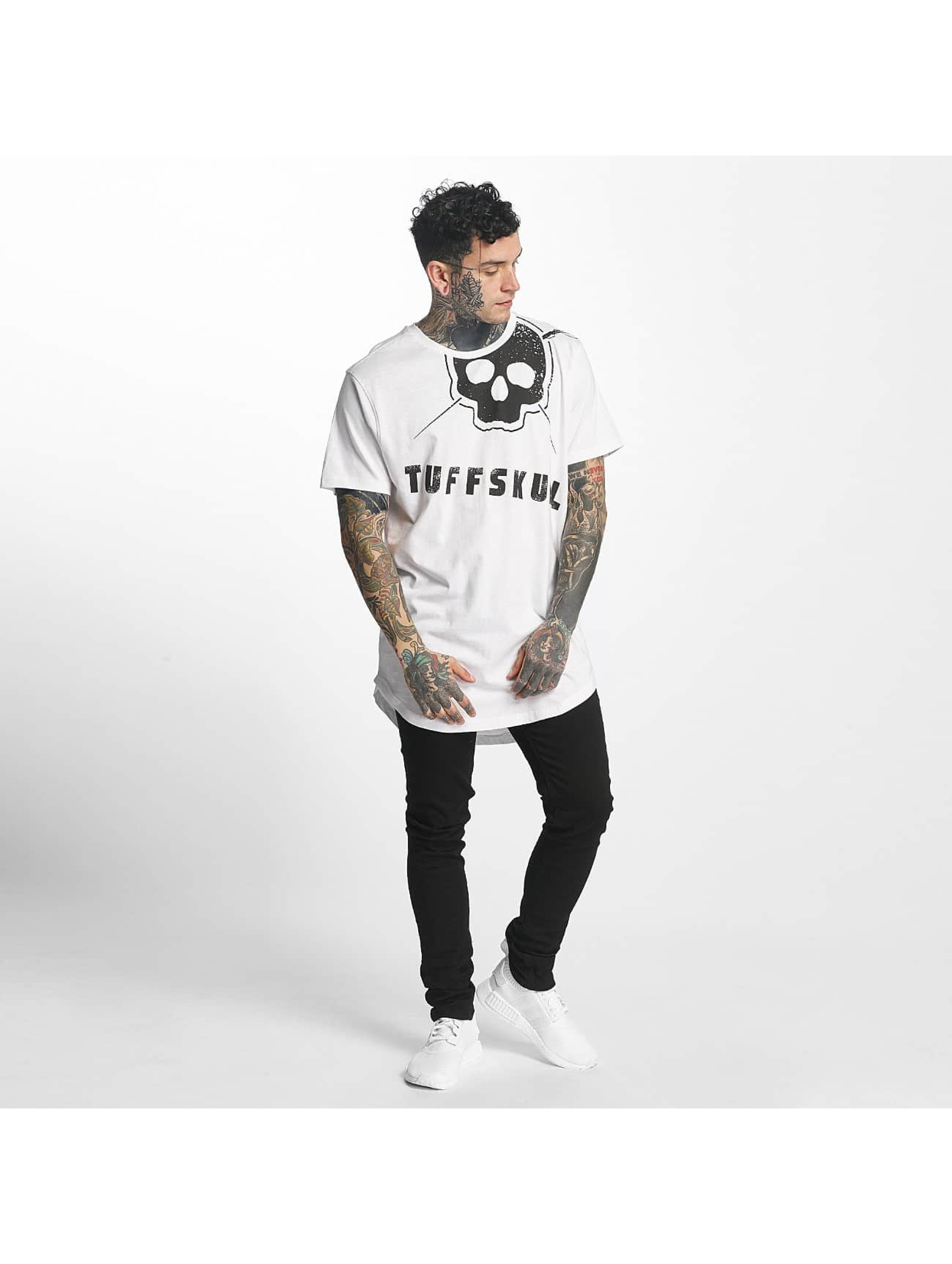 Tuffskull T-paidat Miami valkoinen