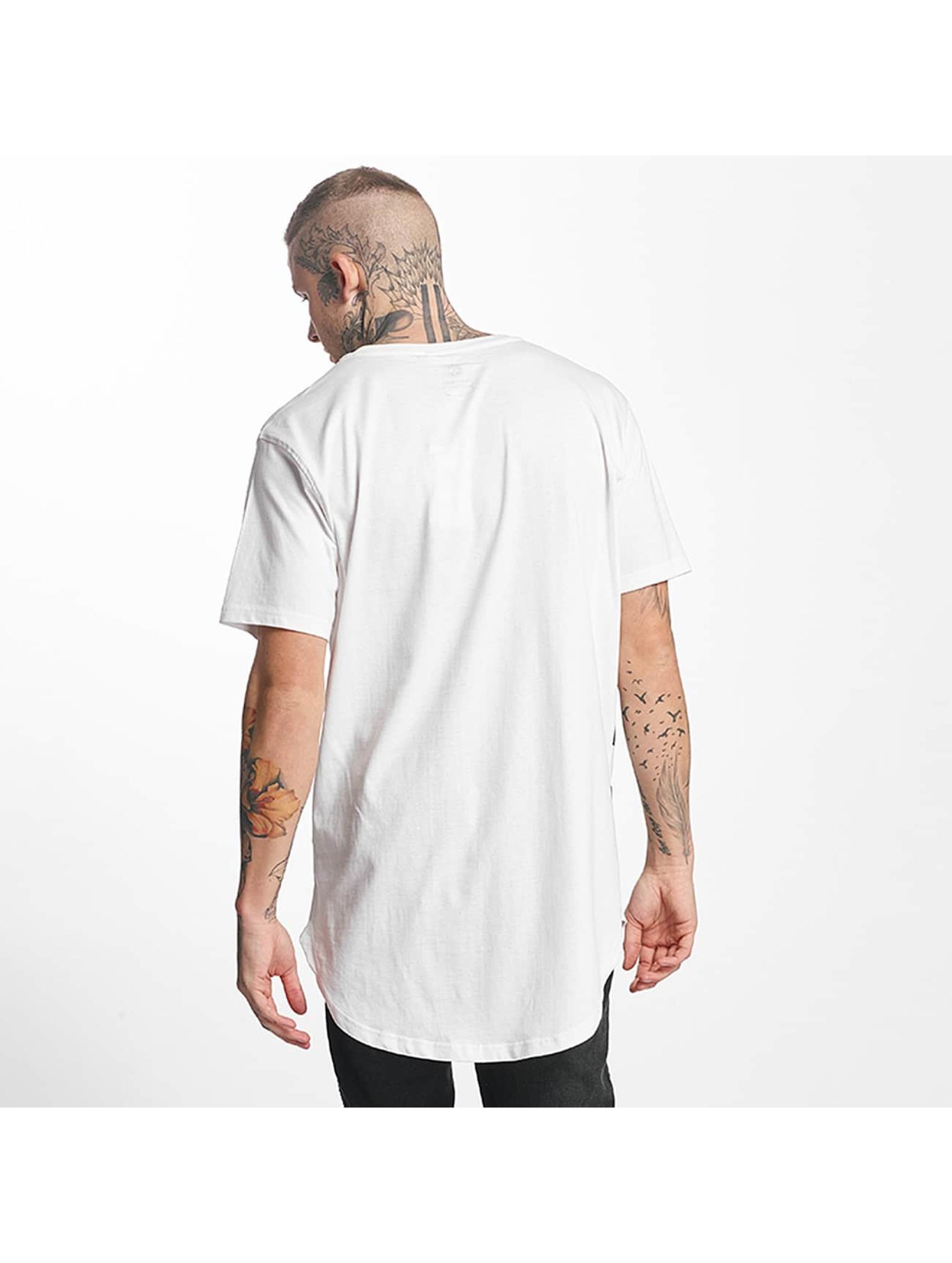 Tuffskull T-Shirt BIGSKULL Long blanc