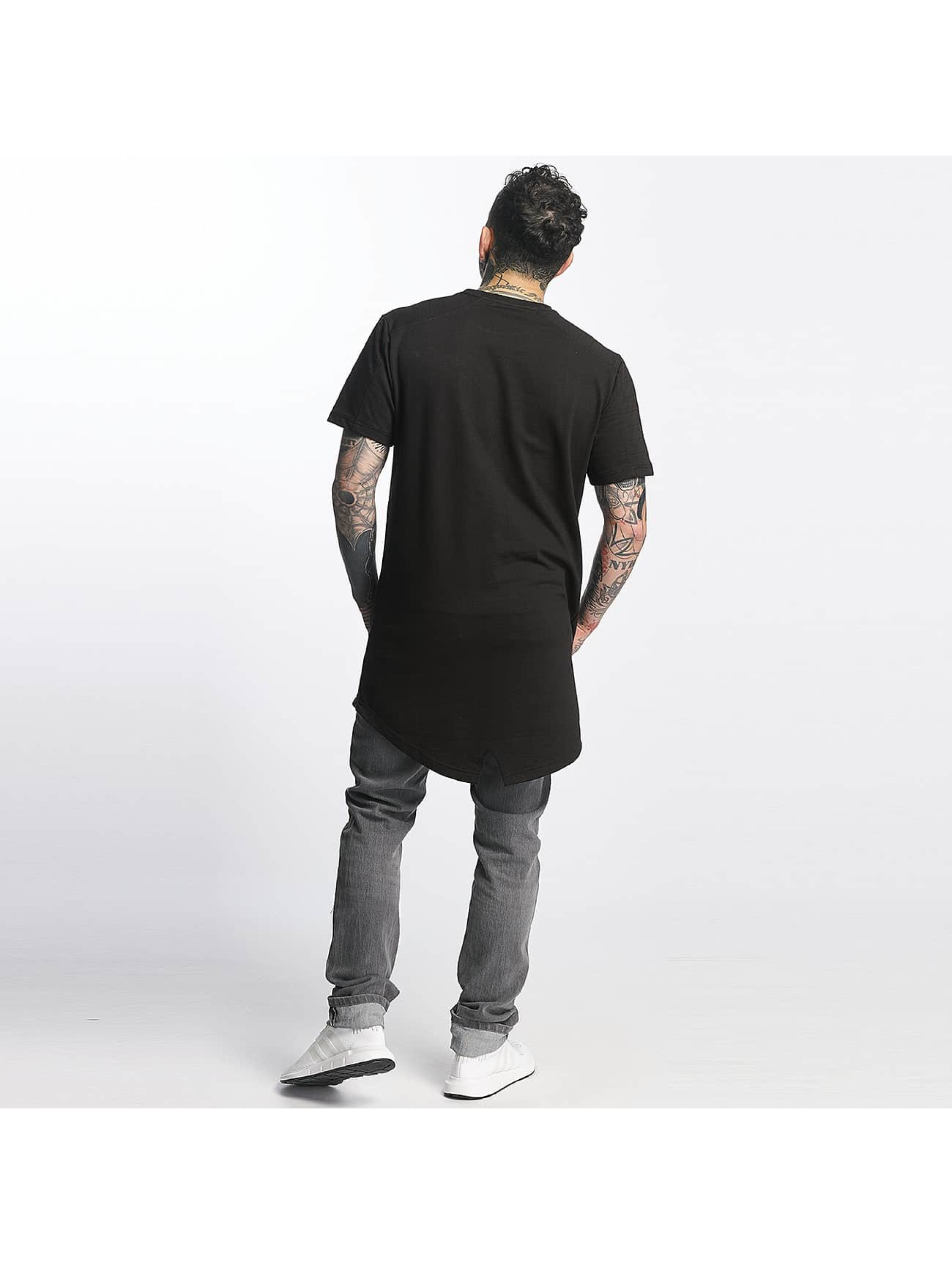 Tuffskull T-shirt long oversize Nothing noir